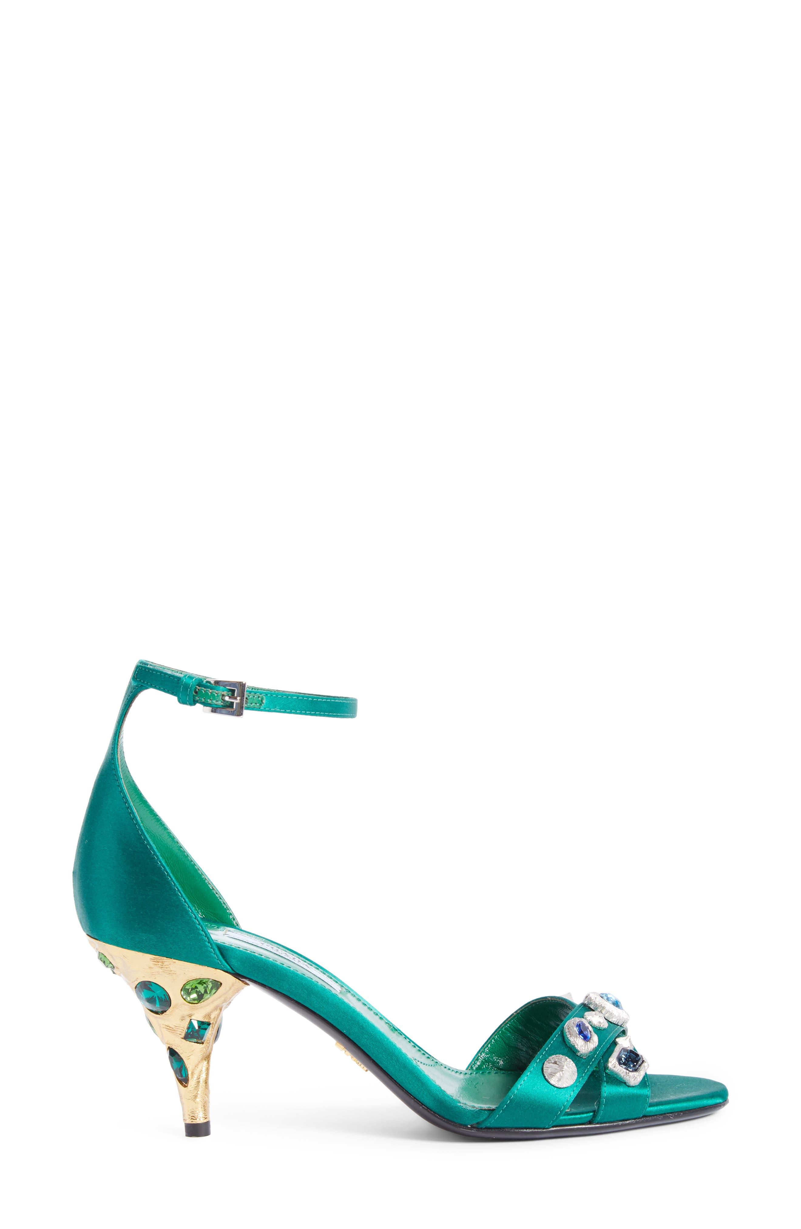 Alternate Image 4  - Prada Jewel Ankle Strap Sandal (Women)