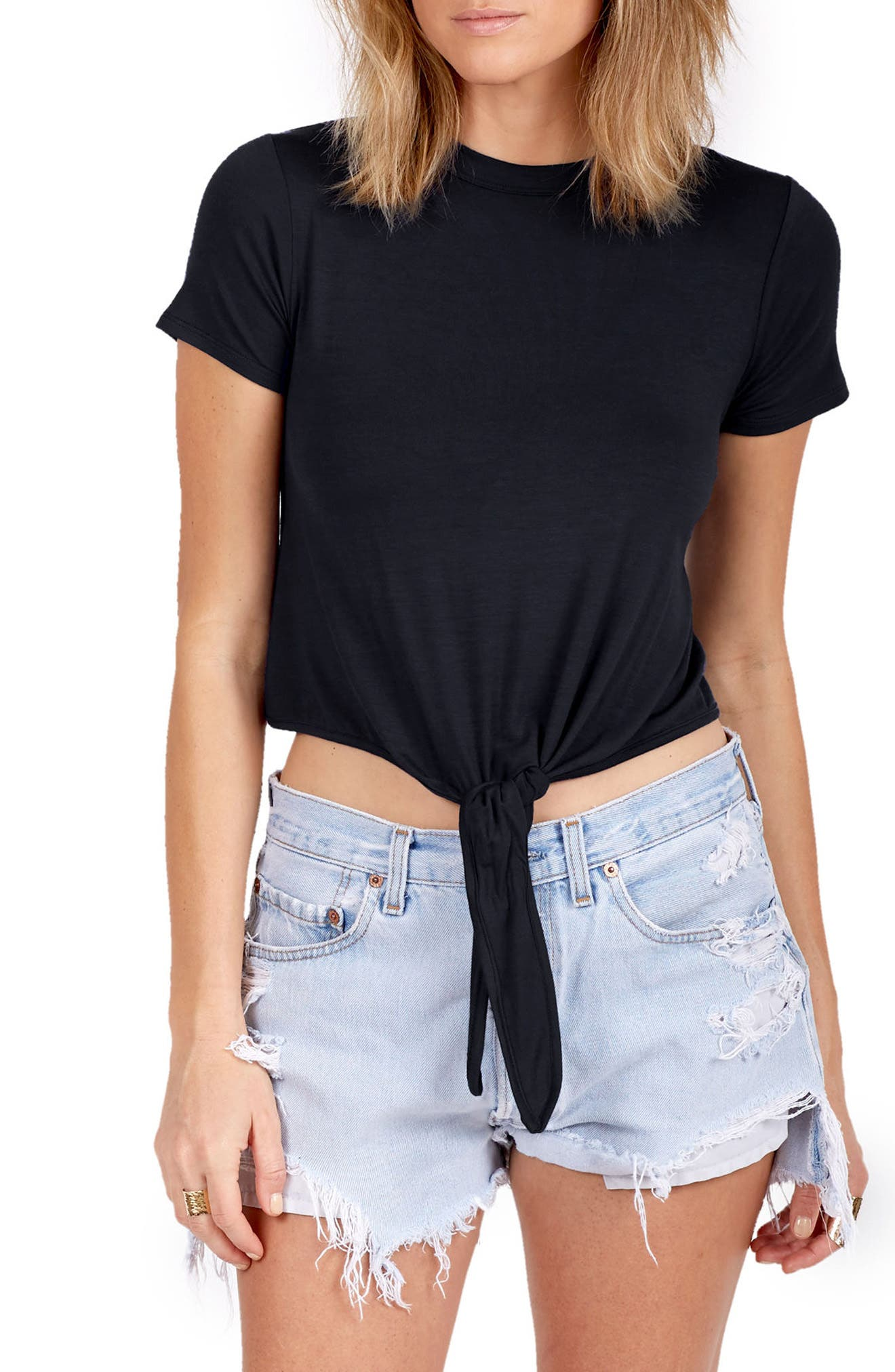 DELACY York Knot Front Top