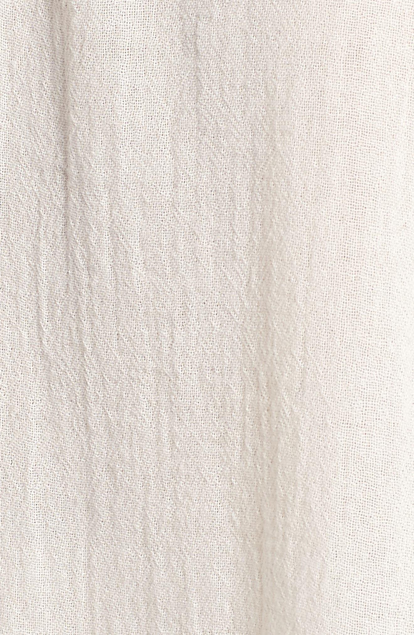 Alternate Image 7  - Velvet by Graham & Spencer Embroidered Swing Blouse