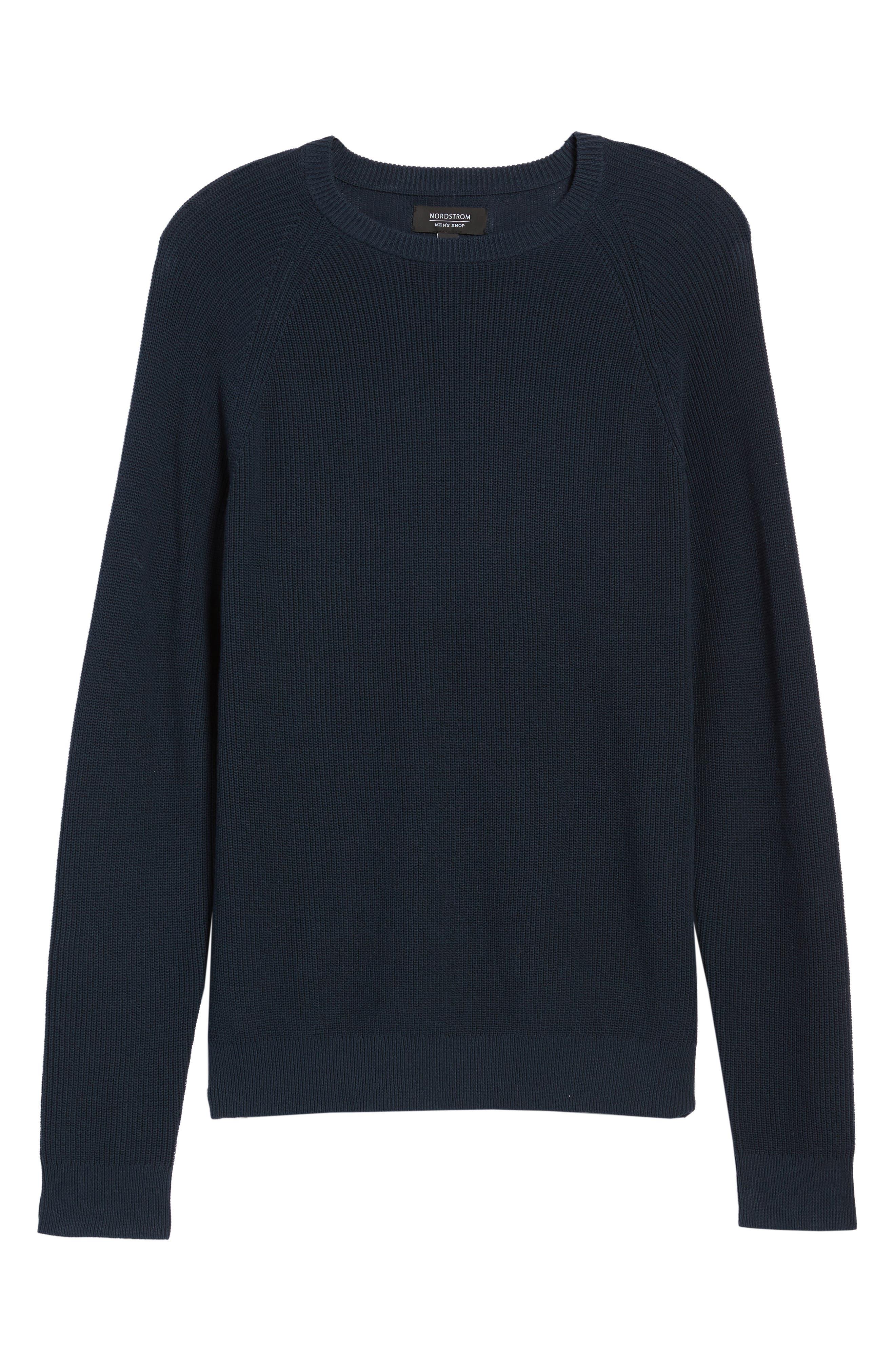 Alternate Image 6  - Nordstrom Men's Shop Crewneck Sweater (Regular)