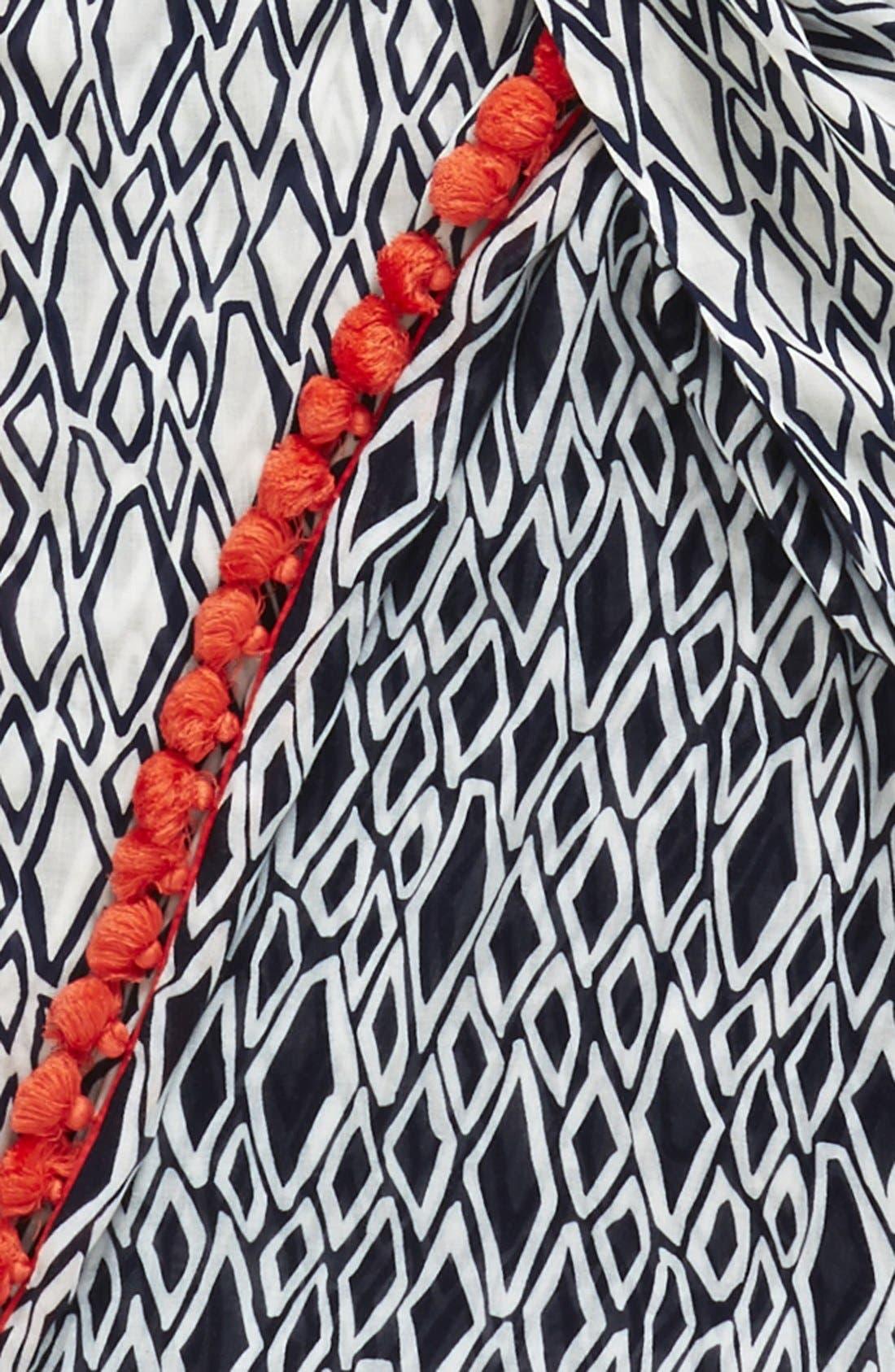 Alternate Image 3  - Diane von Furstenberg Geometric Print Infinity Scarf