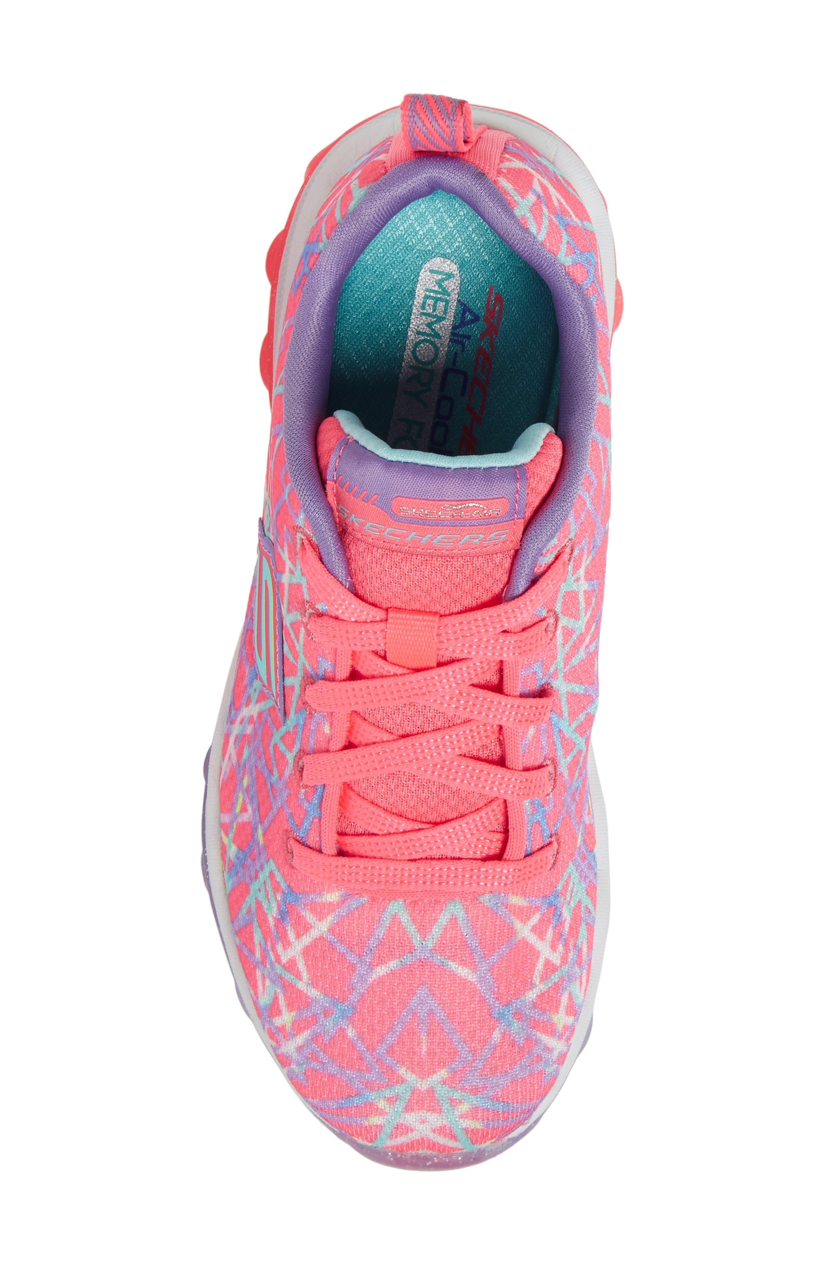 Skech-Air Sneaker,                             Alternate thumbnail 5, color,                             Pink