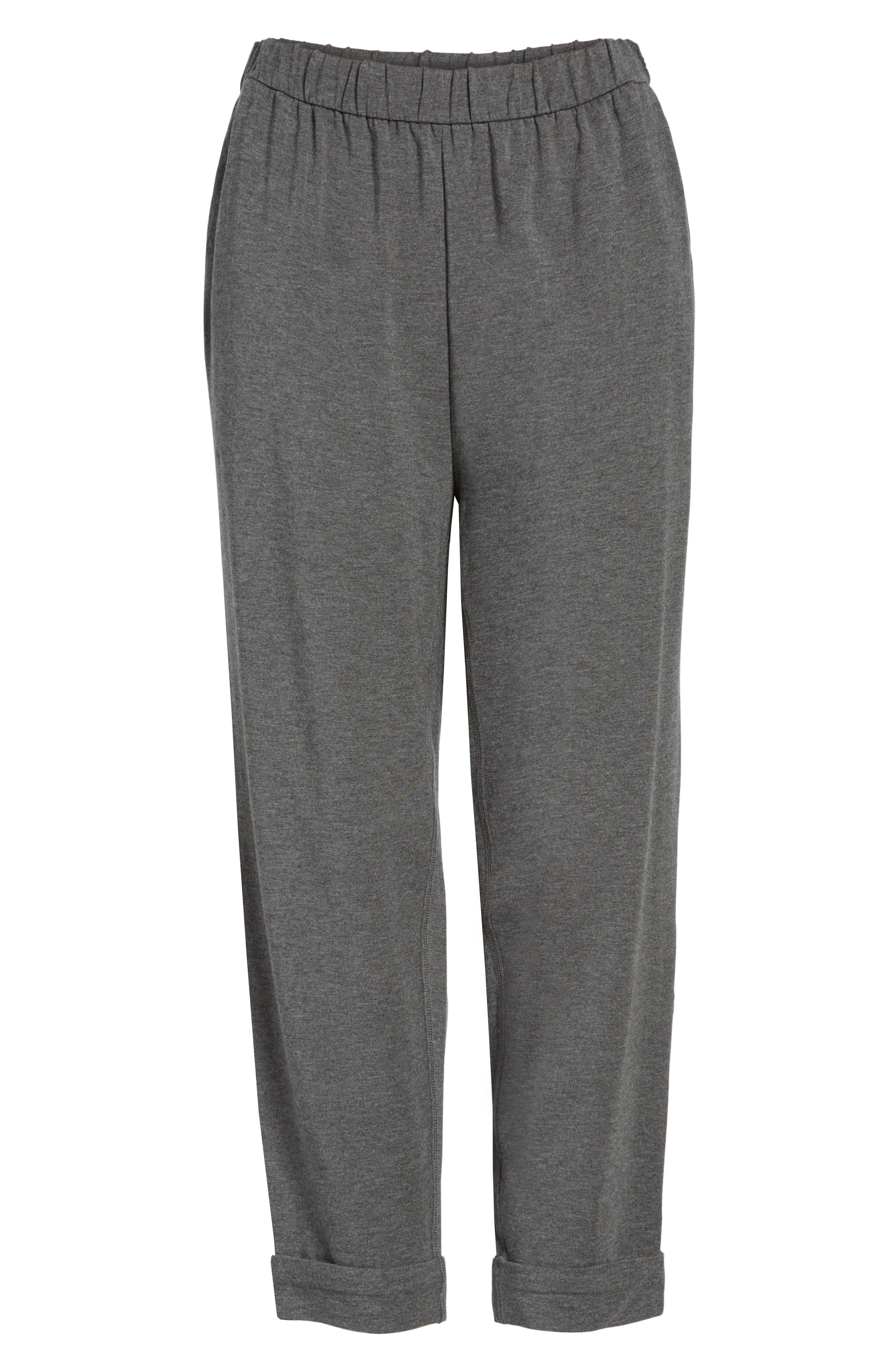 Alternate Image 5  - Eileen Fisher Slouchy Stretch Tencel® Pants