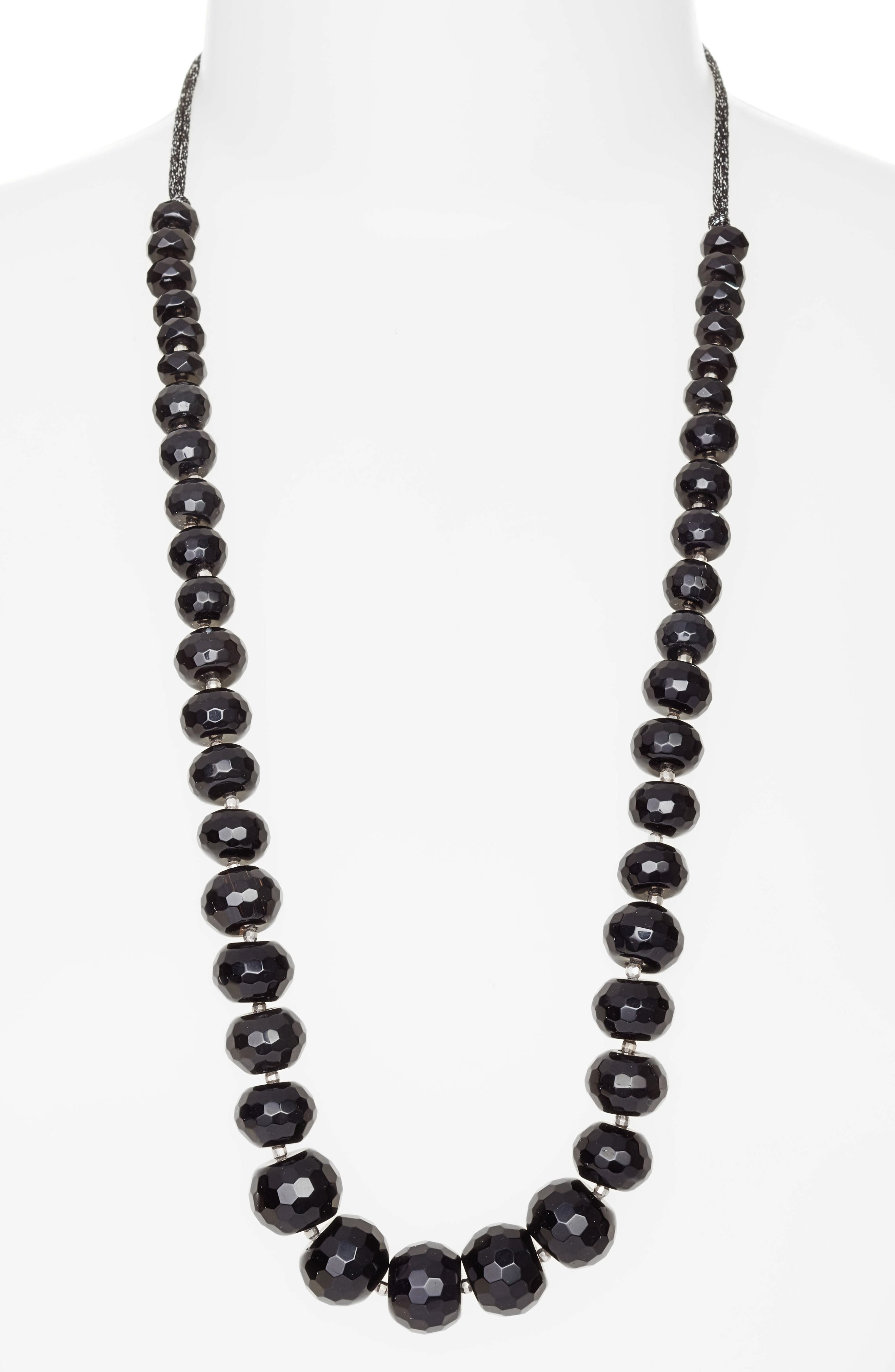 Chan Luu Adjustable Beaded Necklace