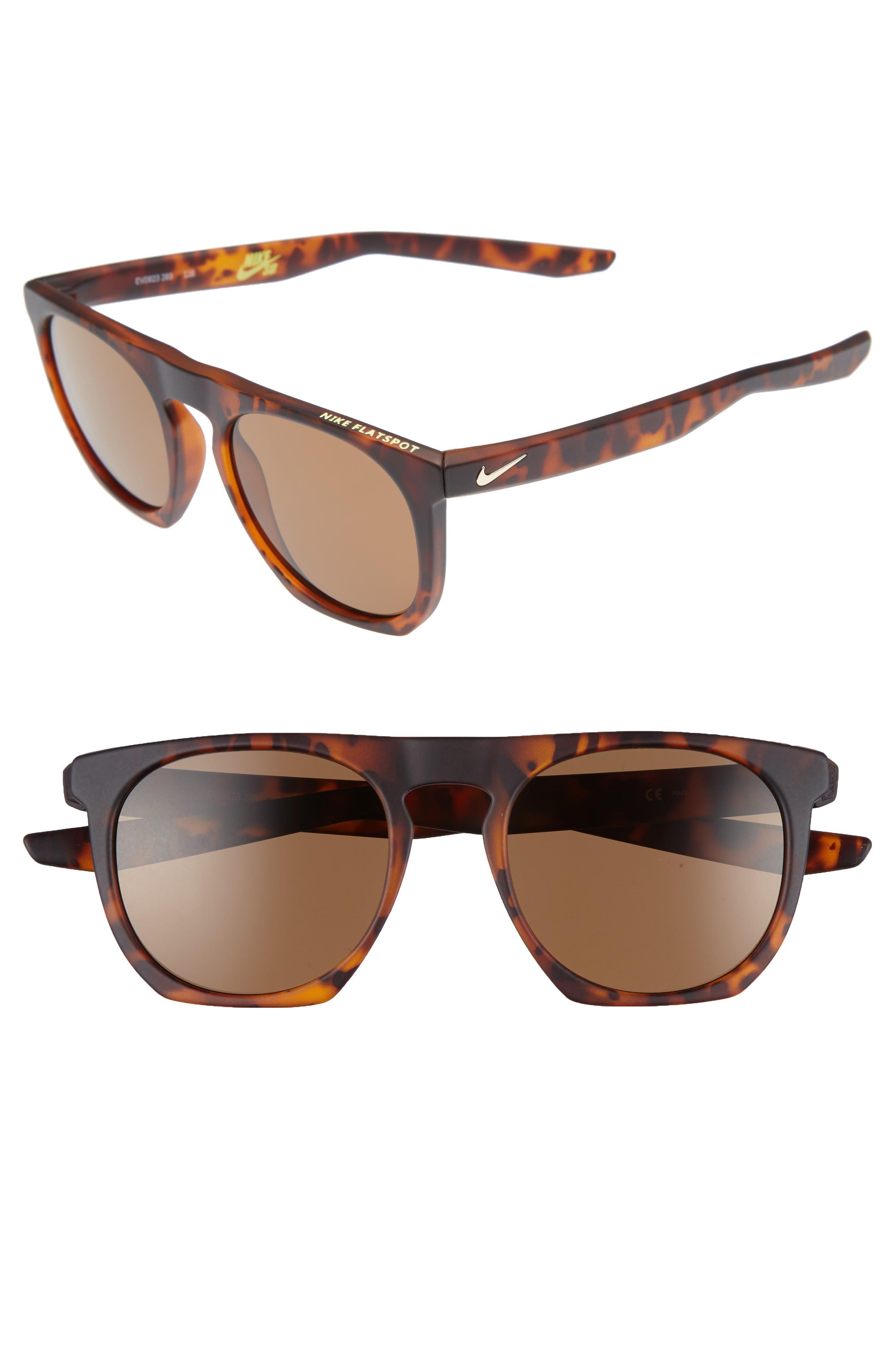 Alternate Image 1 Selected - Nike Flatspot 52mm Sunglasses