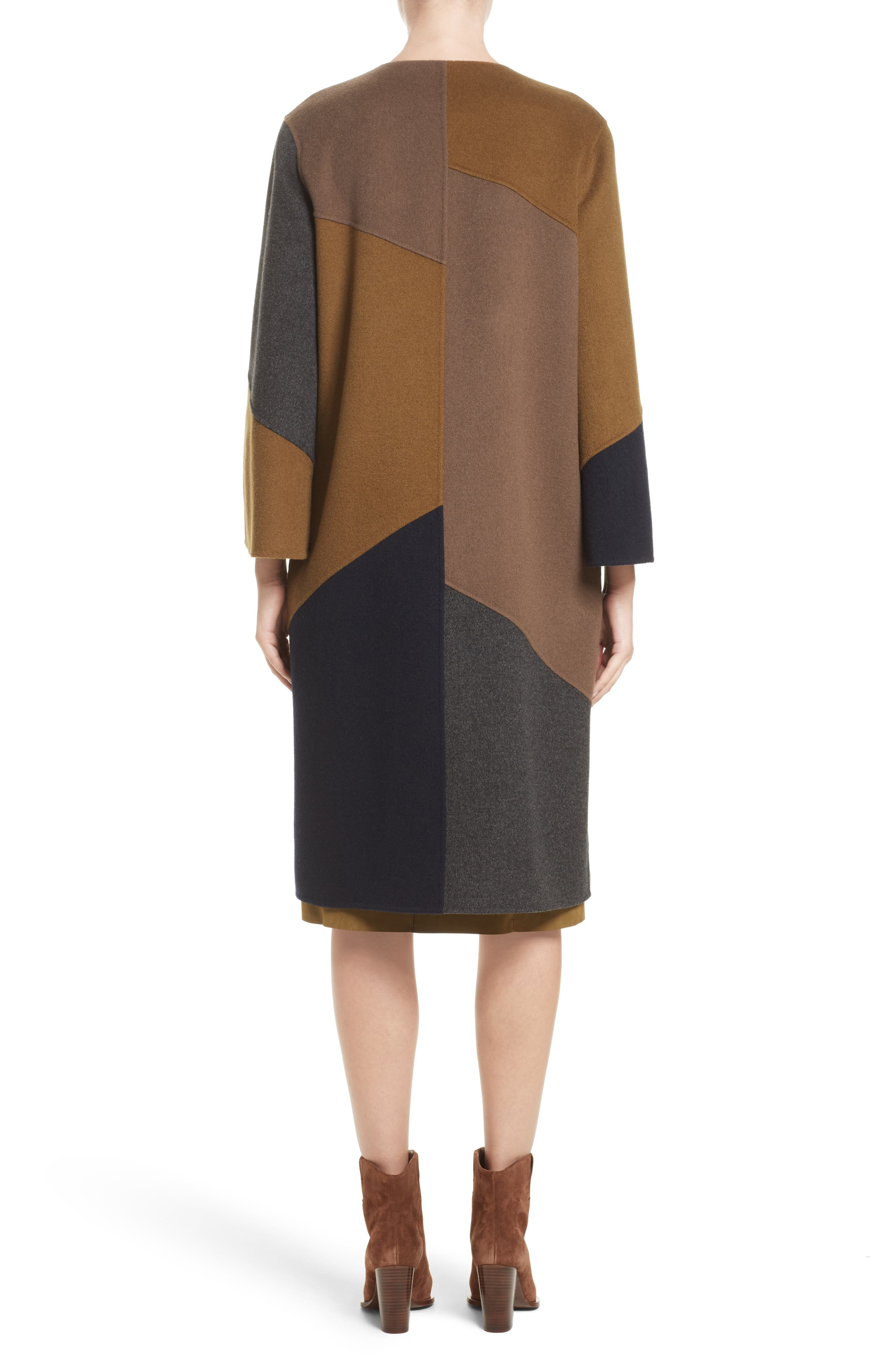 Alternate Image 2  - Lafayette 148 New York Belissa Double Face Reversible Coat