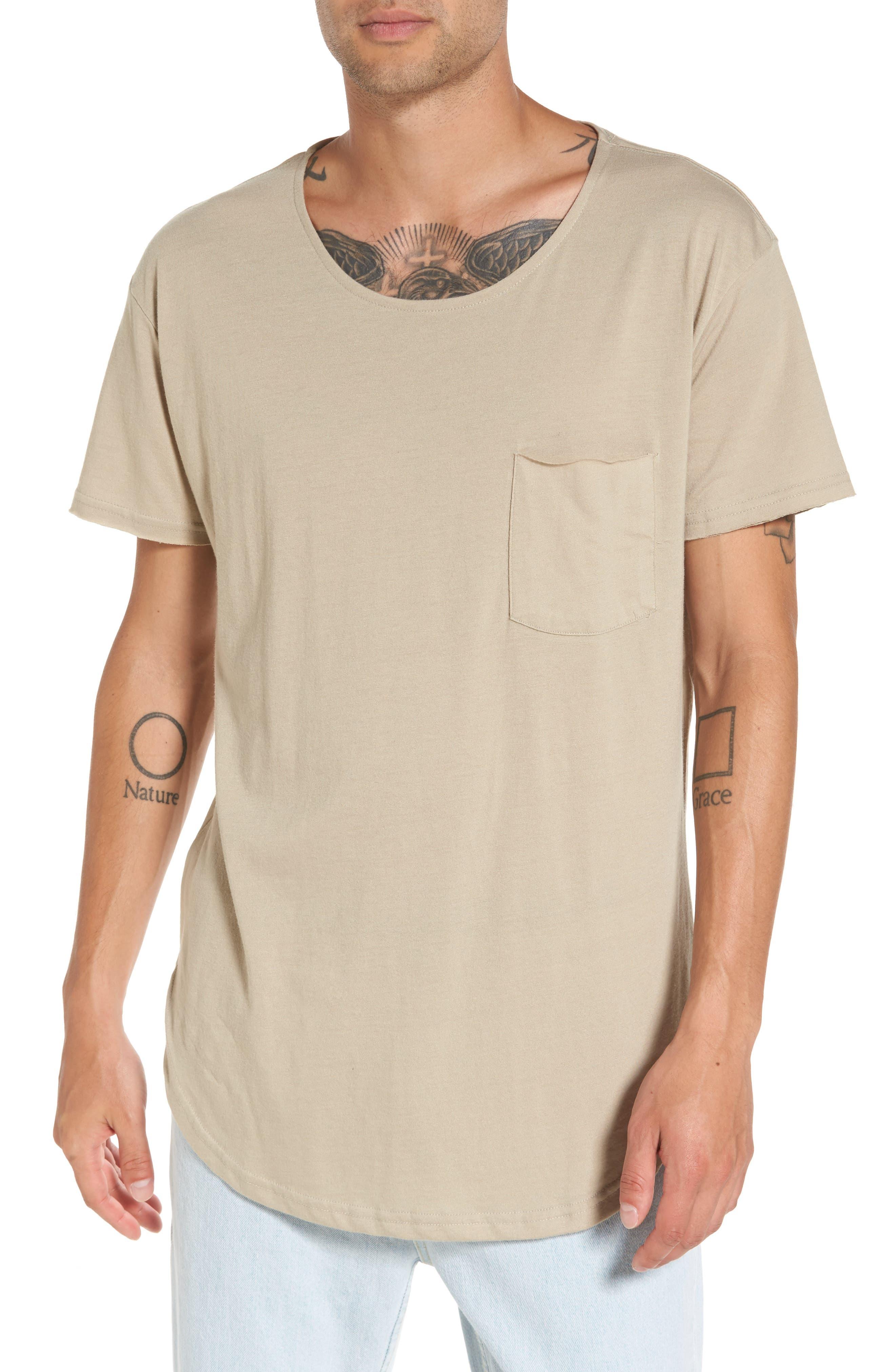 THE RAIL Longline Scallop T-Shirt