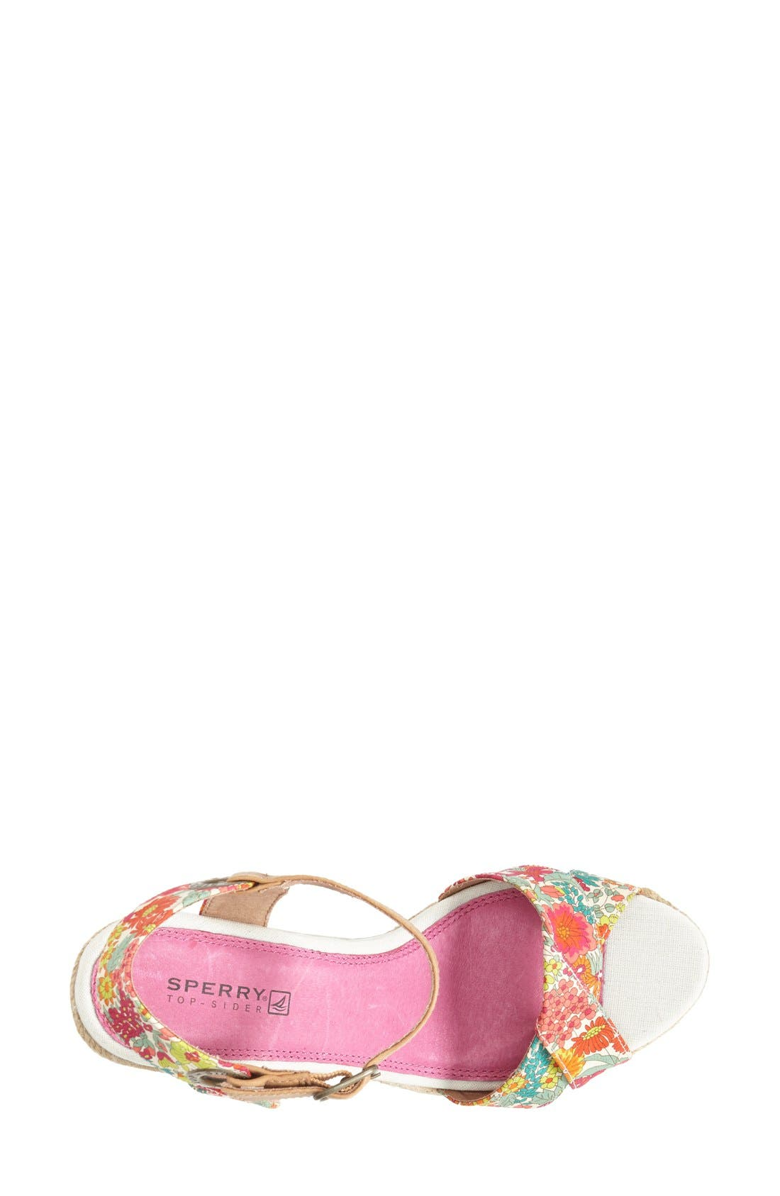 Alternate Image 3  - Sperry 'Saylor' Espadrille Wedge Sandal (Women)