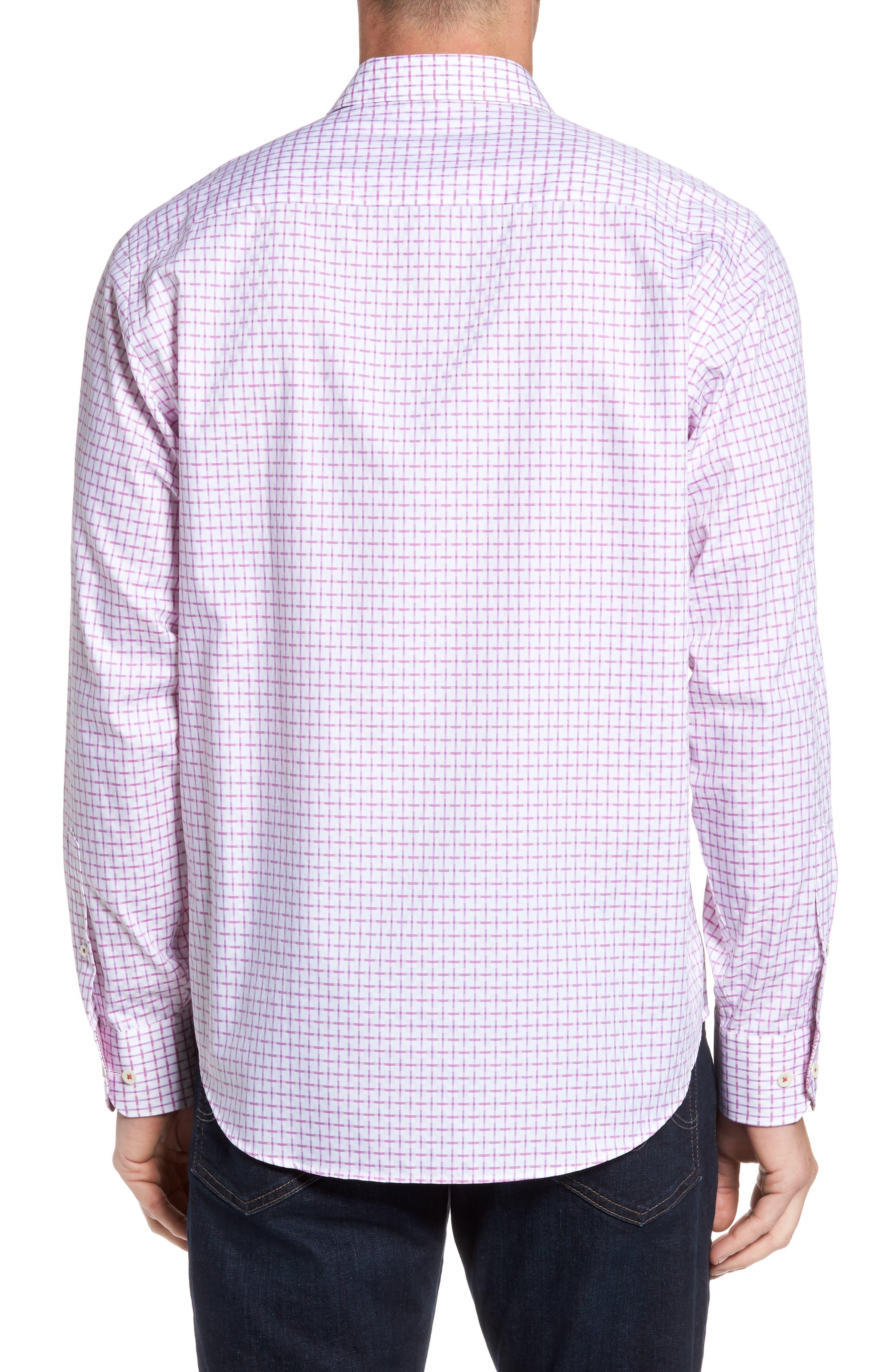 Alternate Image 2  - Bugatchi Classic Fit Graphic Sport Shirt