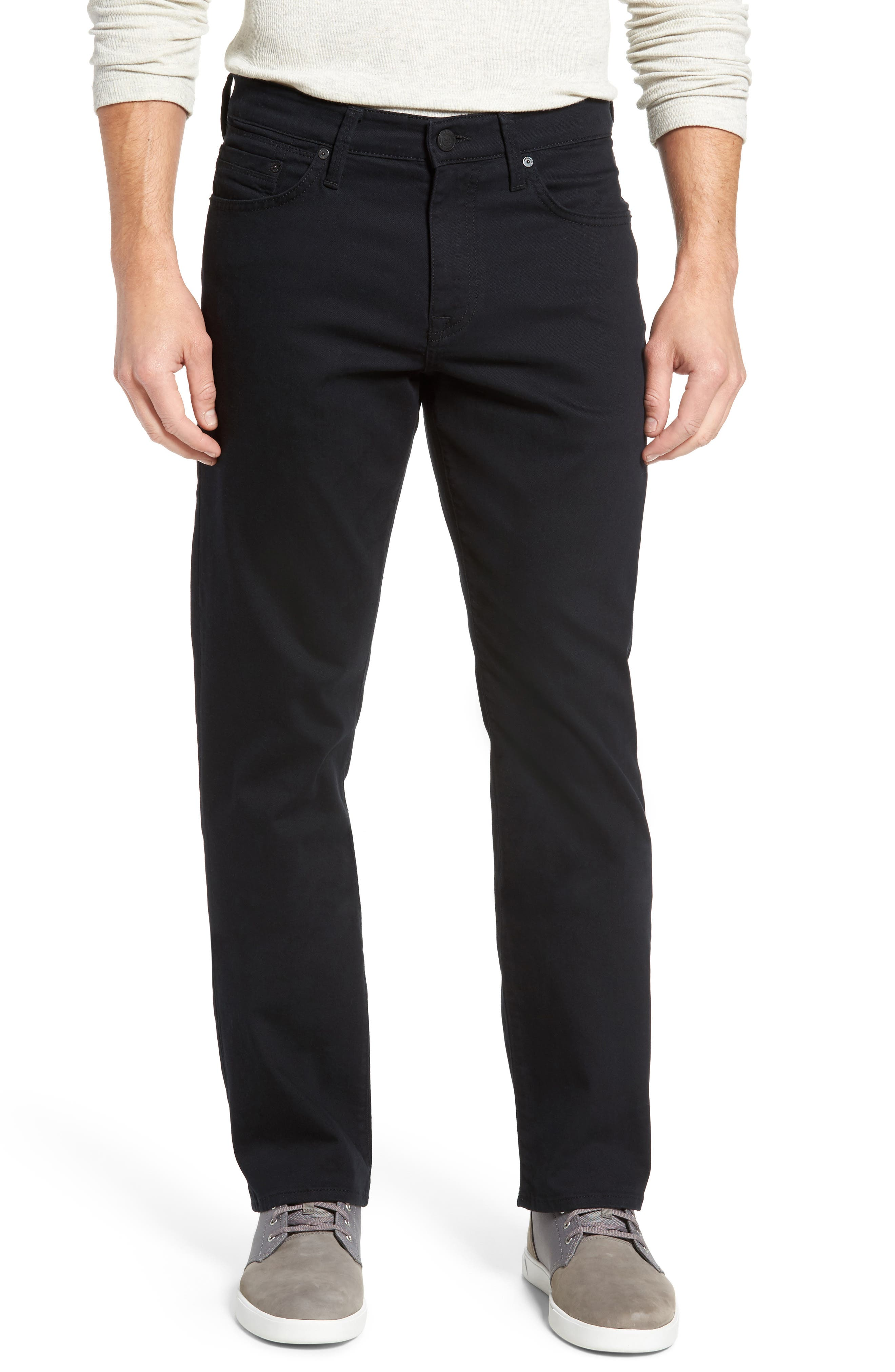 Matt Relaxed Fit Jeans,                             Main thumbnail 1, color,                             Black Williamsburg