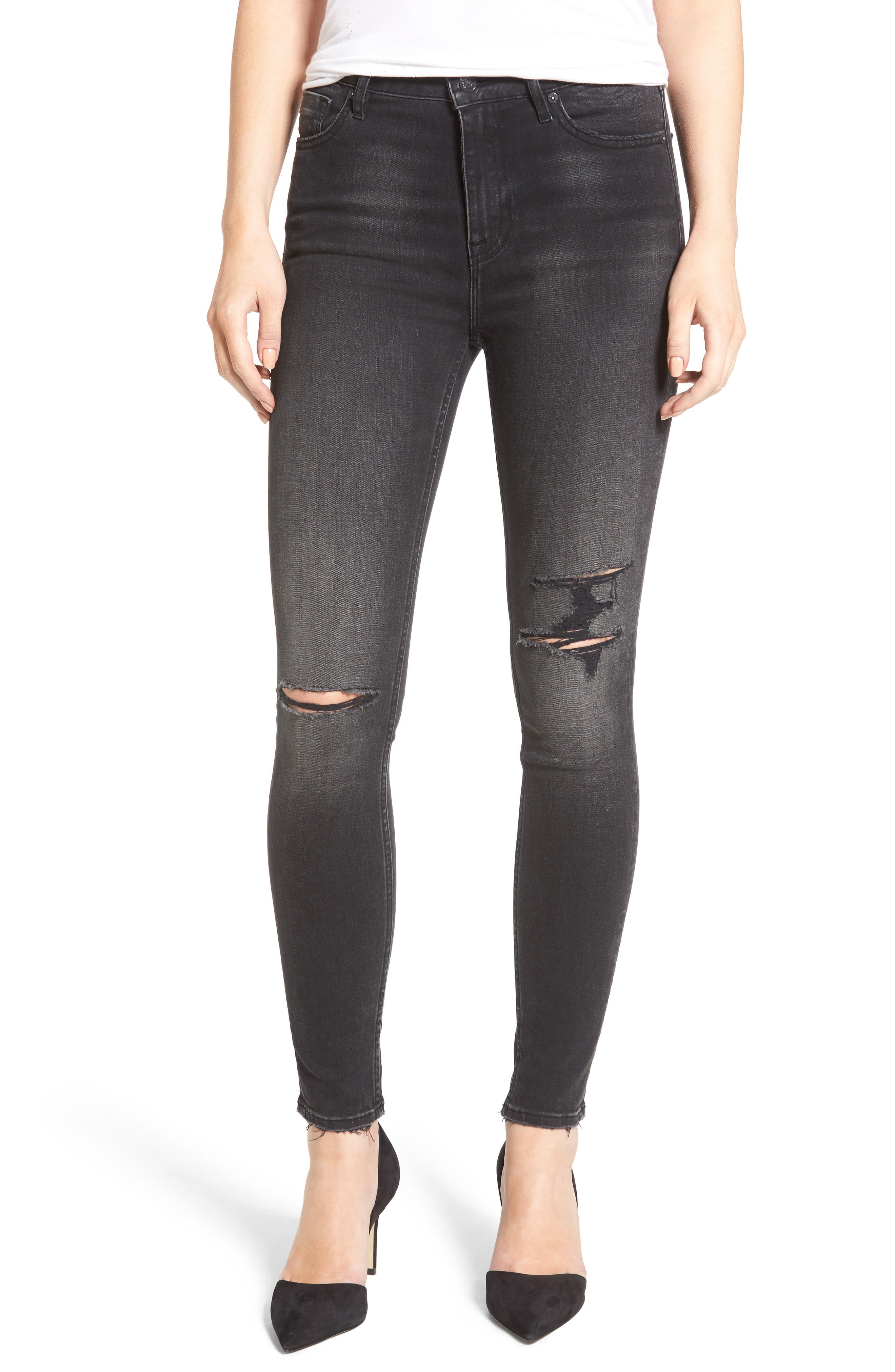 Vigoss Ace Ripped Super Skinny Jeans