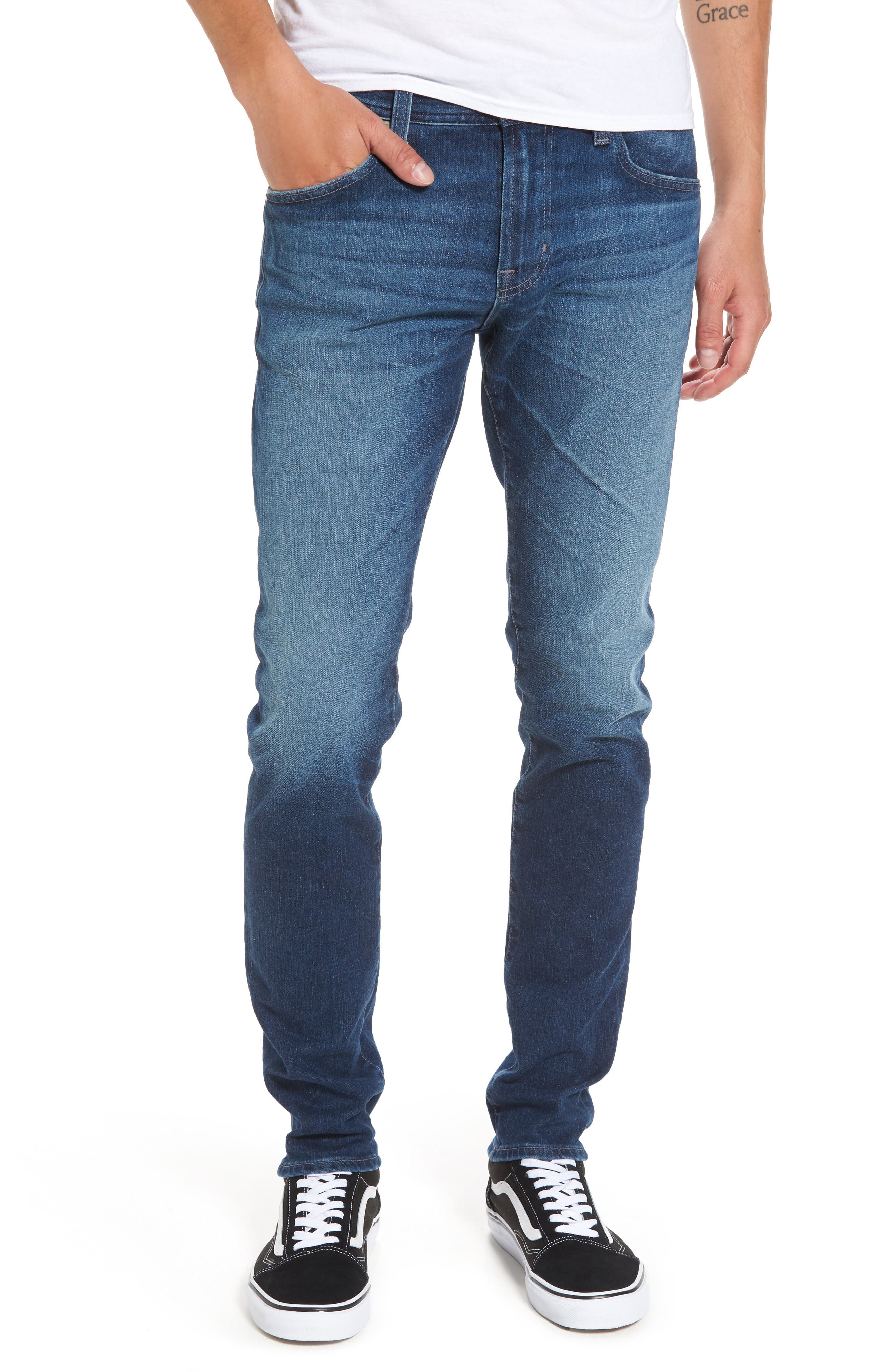 Main Image - AG Dylan Skinny Fit Jeans (8 Years Overboard)