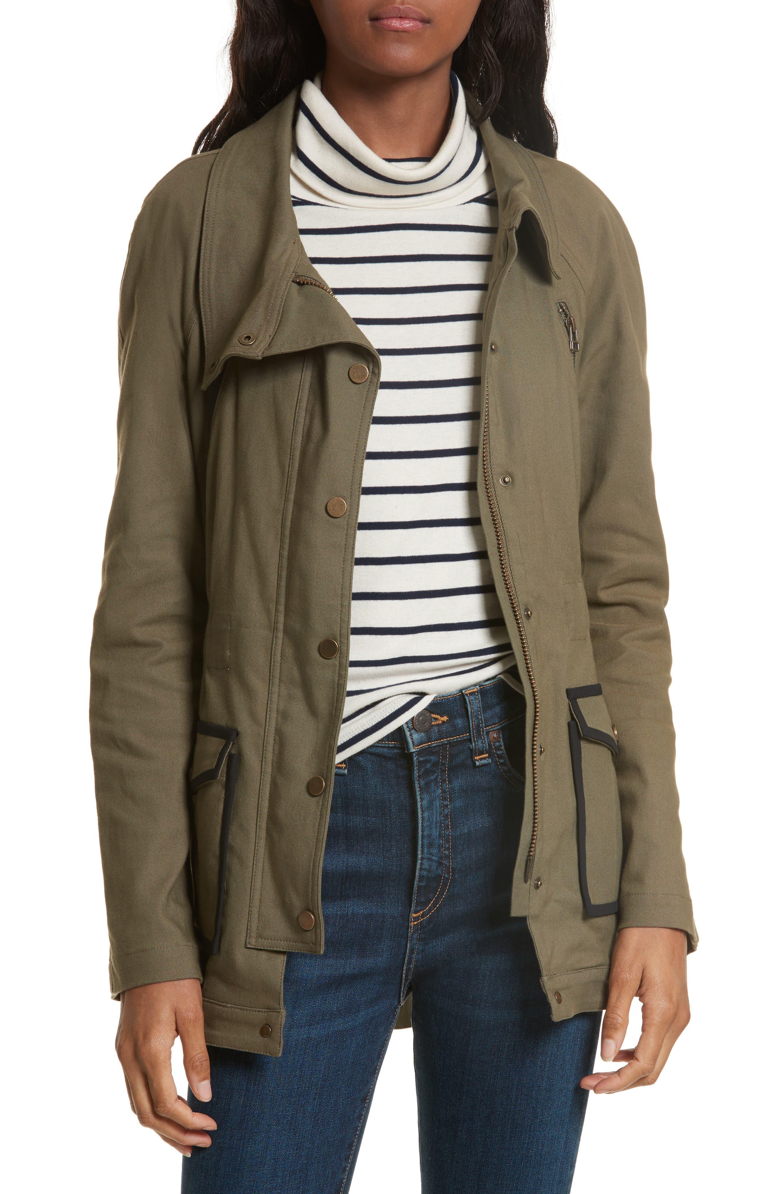 Alternate Image 1 Selected - Veronica Beard Army Jacket