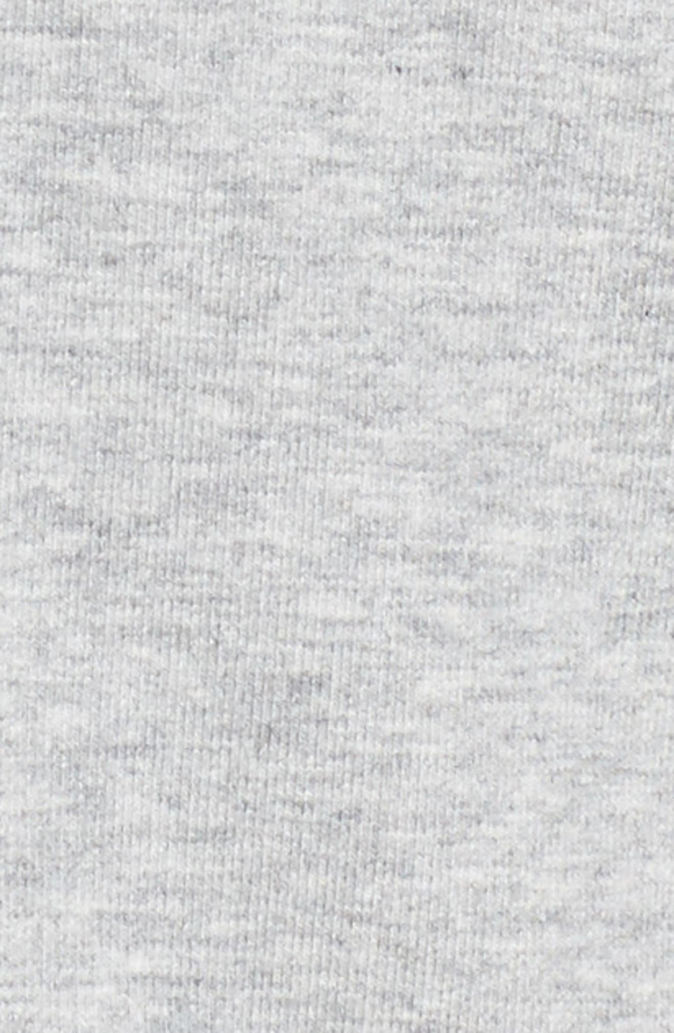 Corset Sweatshirt,                             Alternate thumbnail 5, color,                             Grey Heather