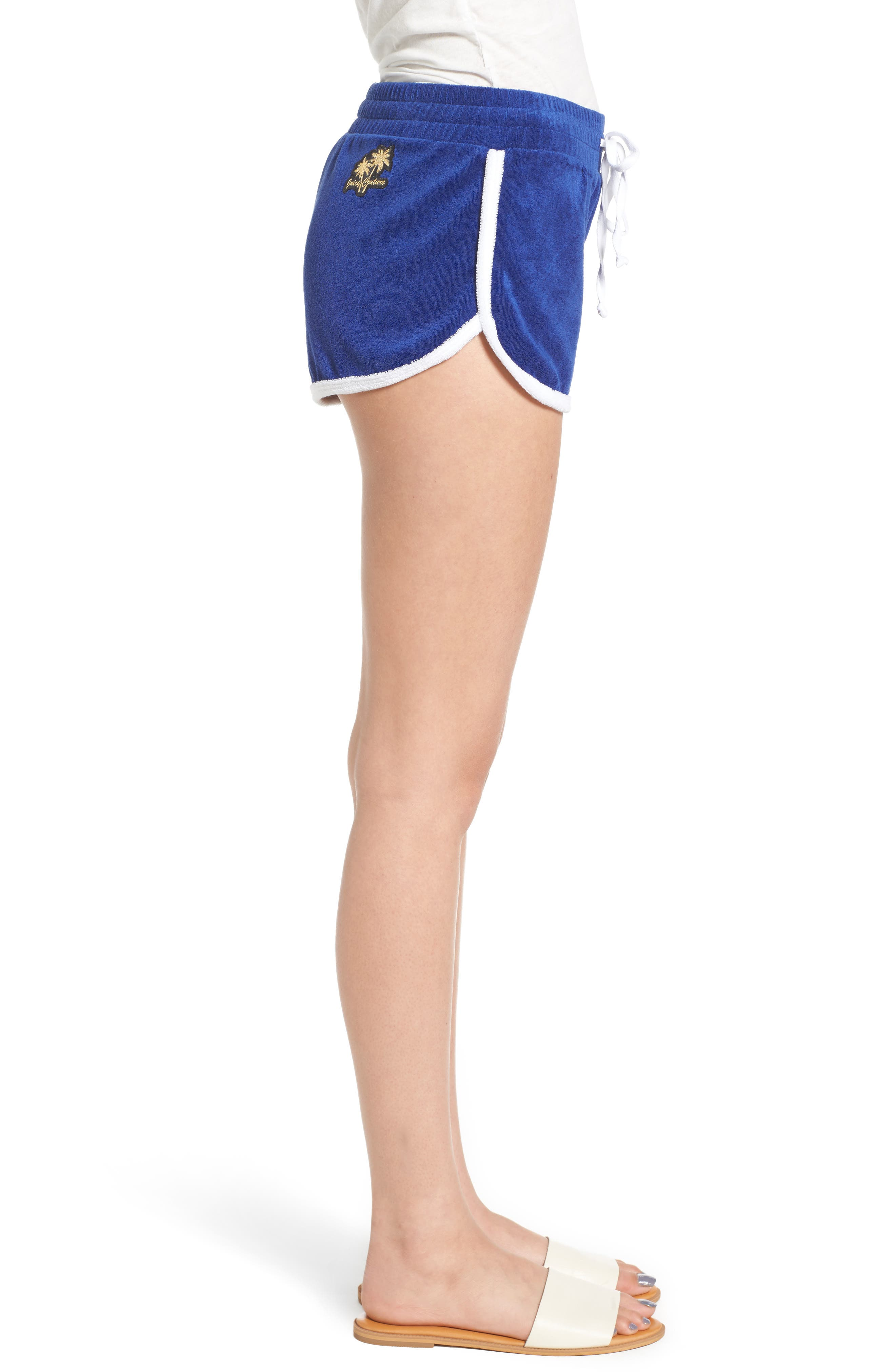 Alternate Image 3  - Juicy Couture Venice Beach Microterry Shorts