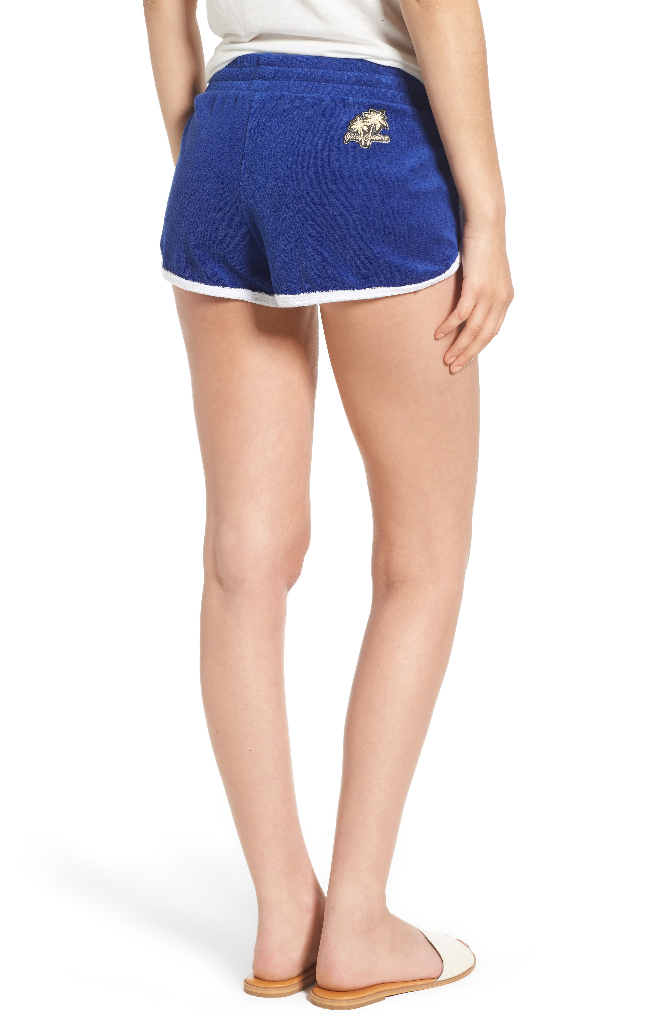 Alternate Image 2  - Juicy Couture Venice Beach Microterry Shorts