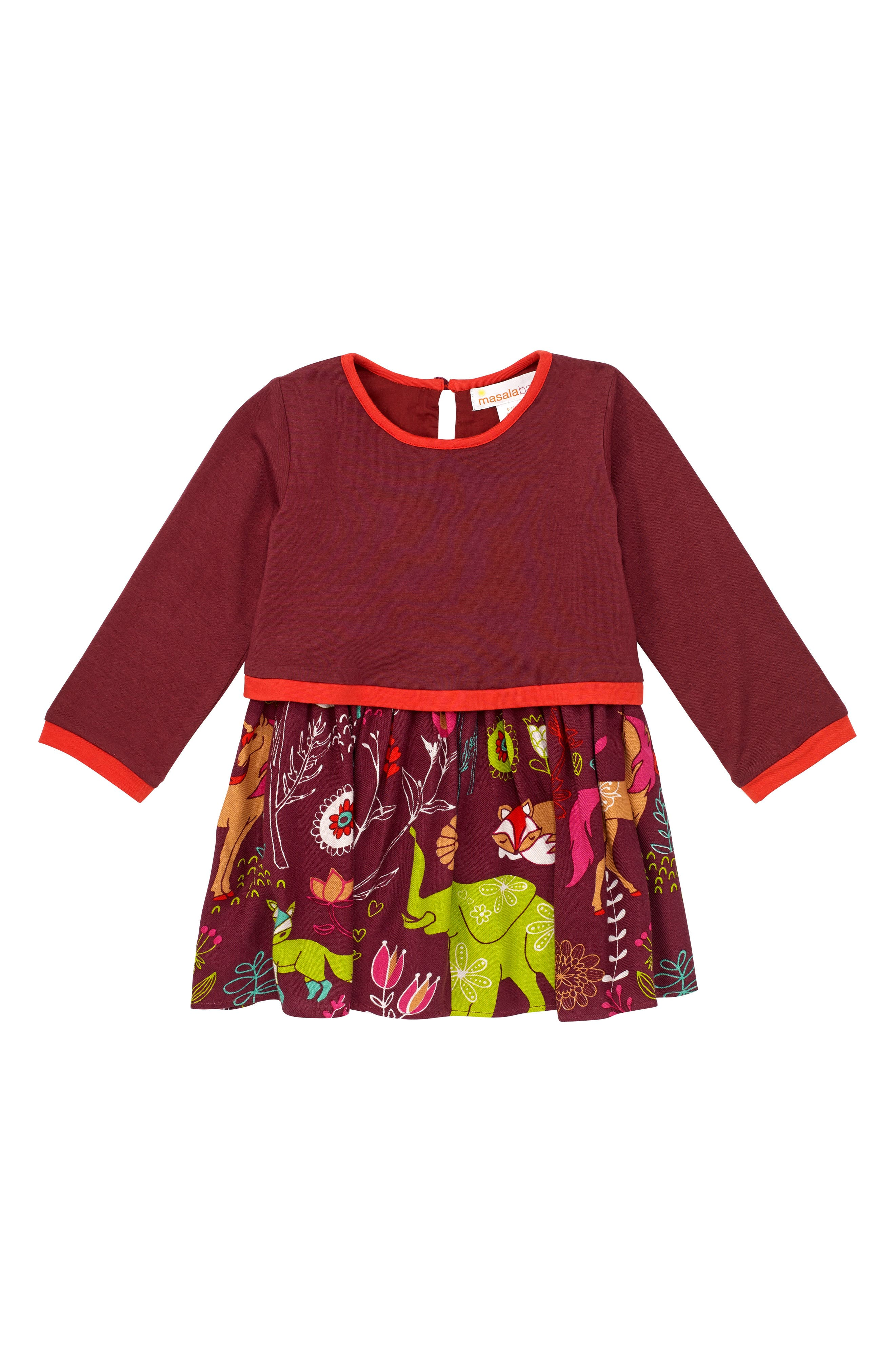 Alternate Image 1 Selected - Masalababy Forest Hills Dress (Baby Girls)