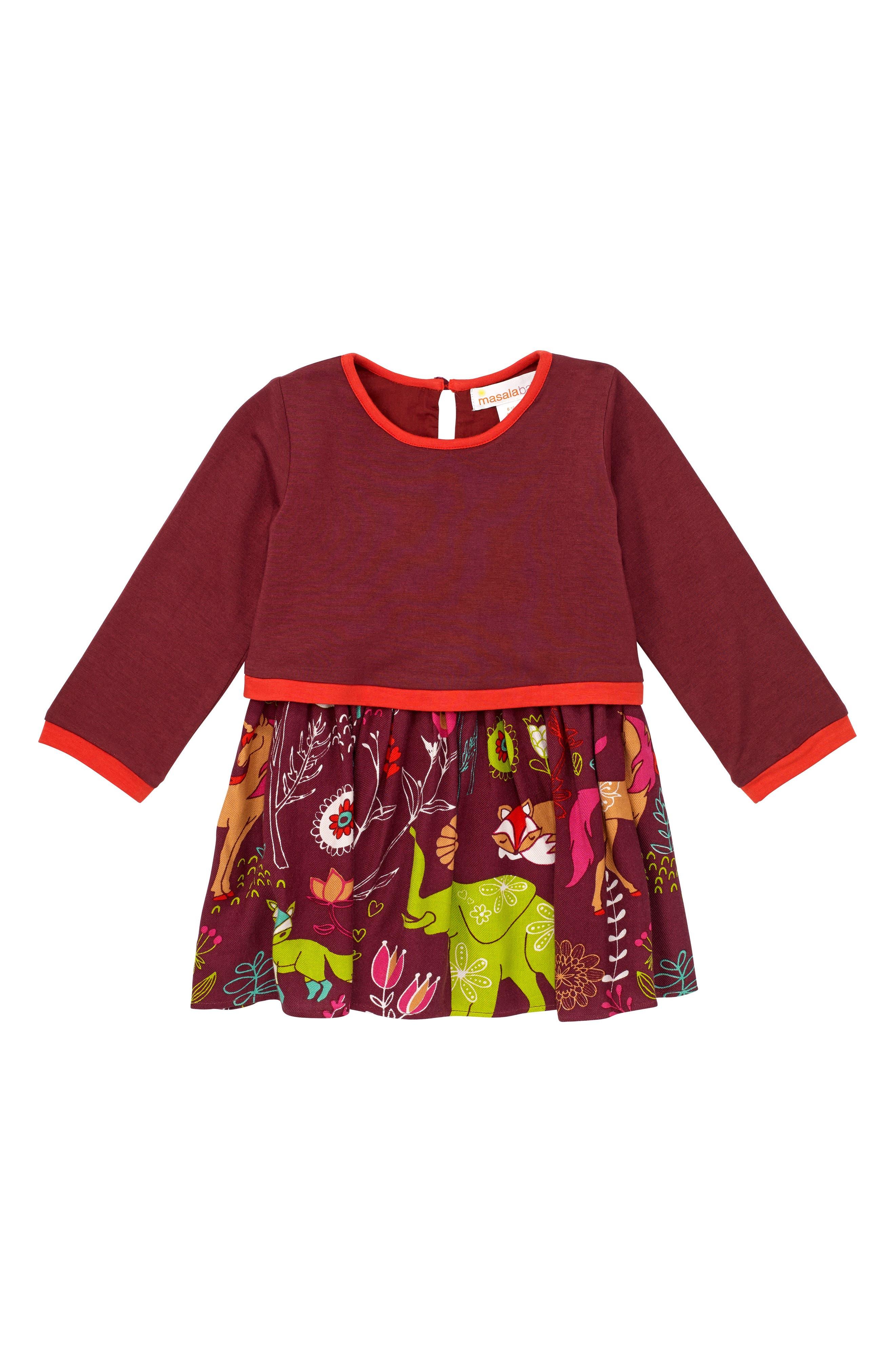Masalababy Forest Hills Dress (Baby Girls)