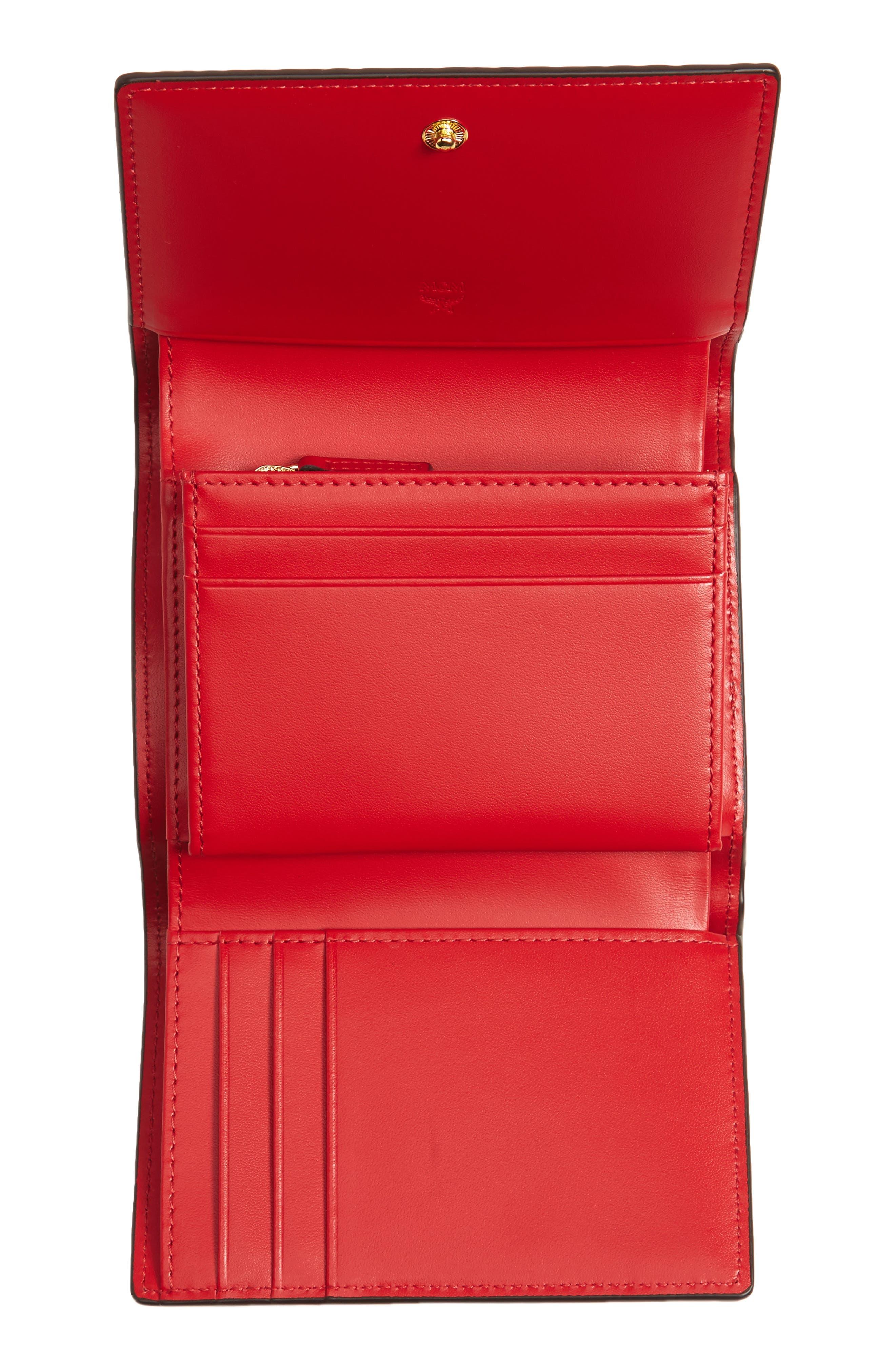Alternate Image 2  - MCM Color Visetos Trifold Wallet