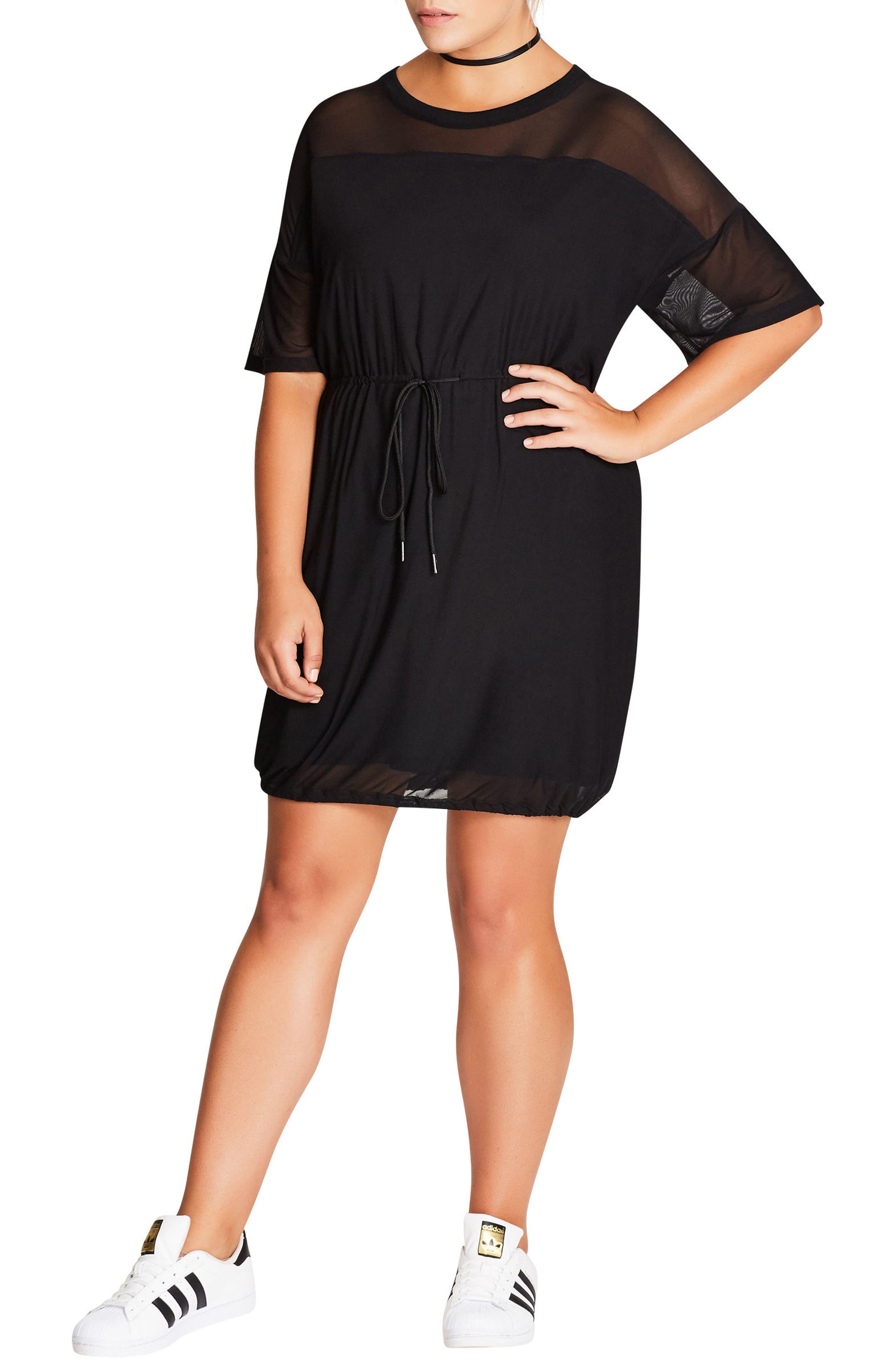 Main Image - City Chic Sports One Tunic (Plus Size)