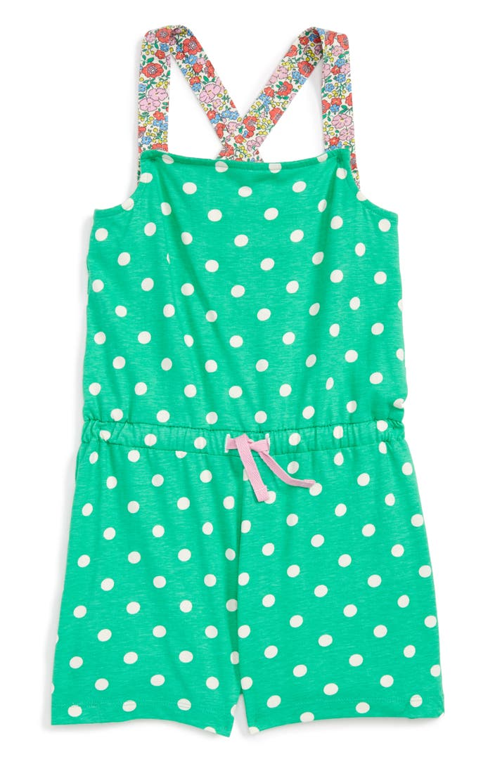 Mini boden print romper toddler girls little girls big for Shop mini boden