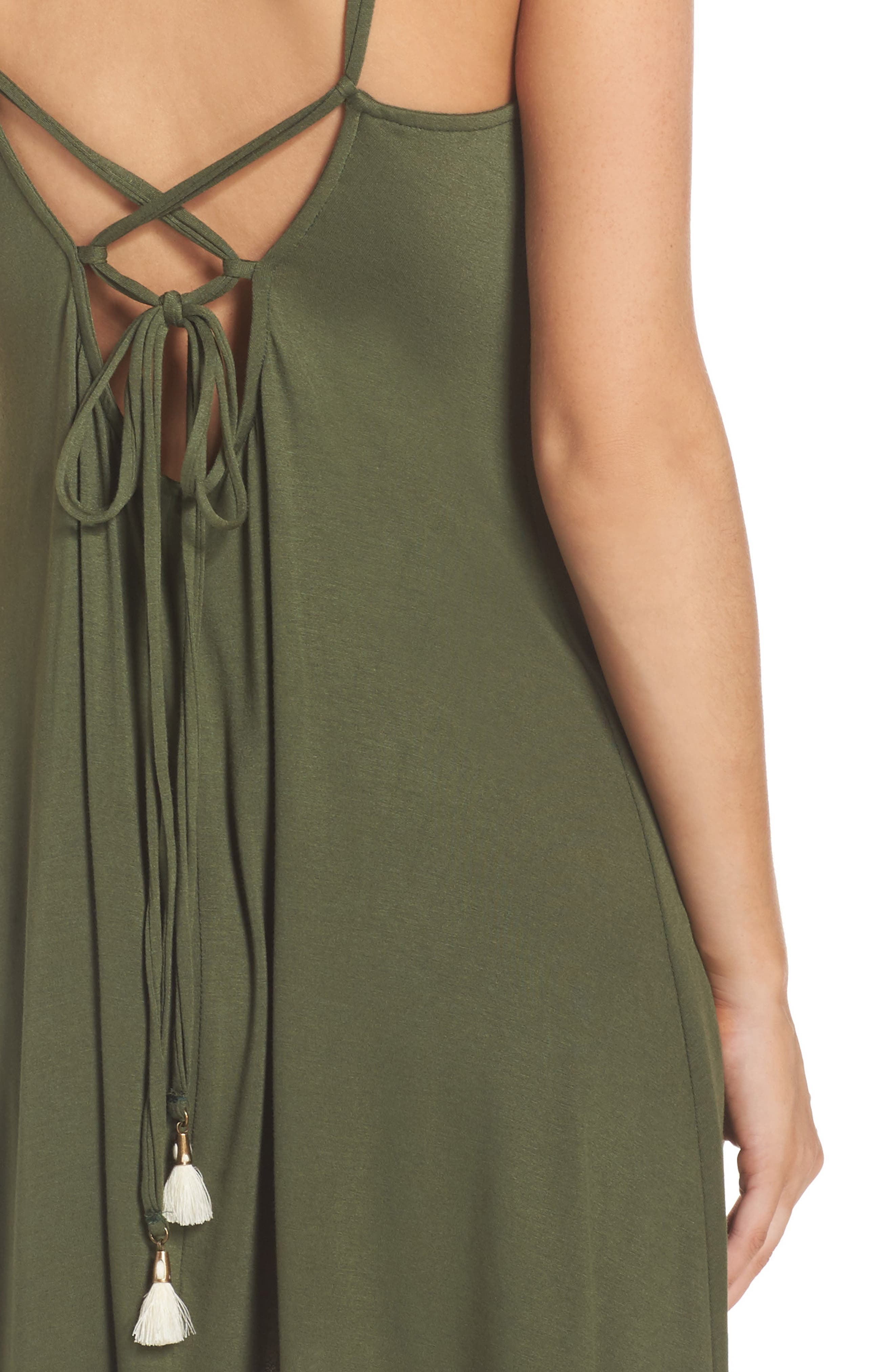 Alternate Image 4  - Lucky Brand Take Cover Cover-Up Dress