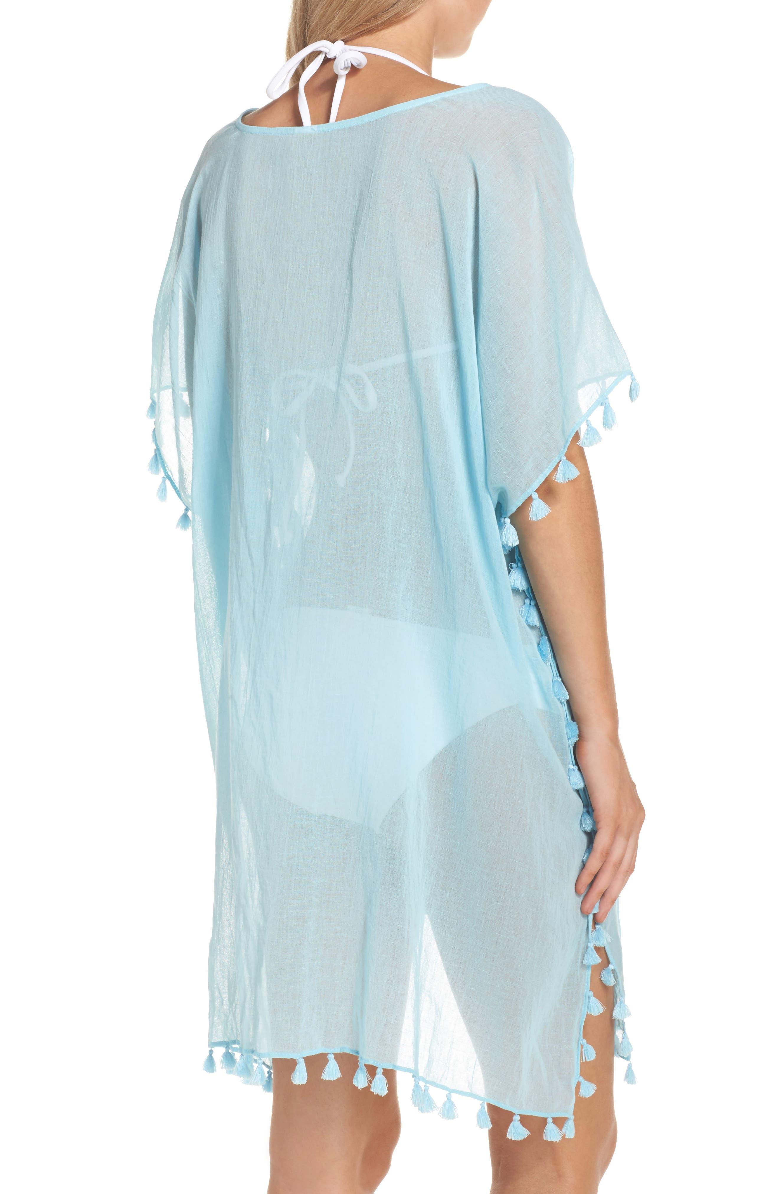 Alternate Image 2  - Seafolly 'Amnesia' Cotton Gauze Cover-Up Caftan