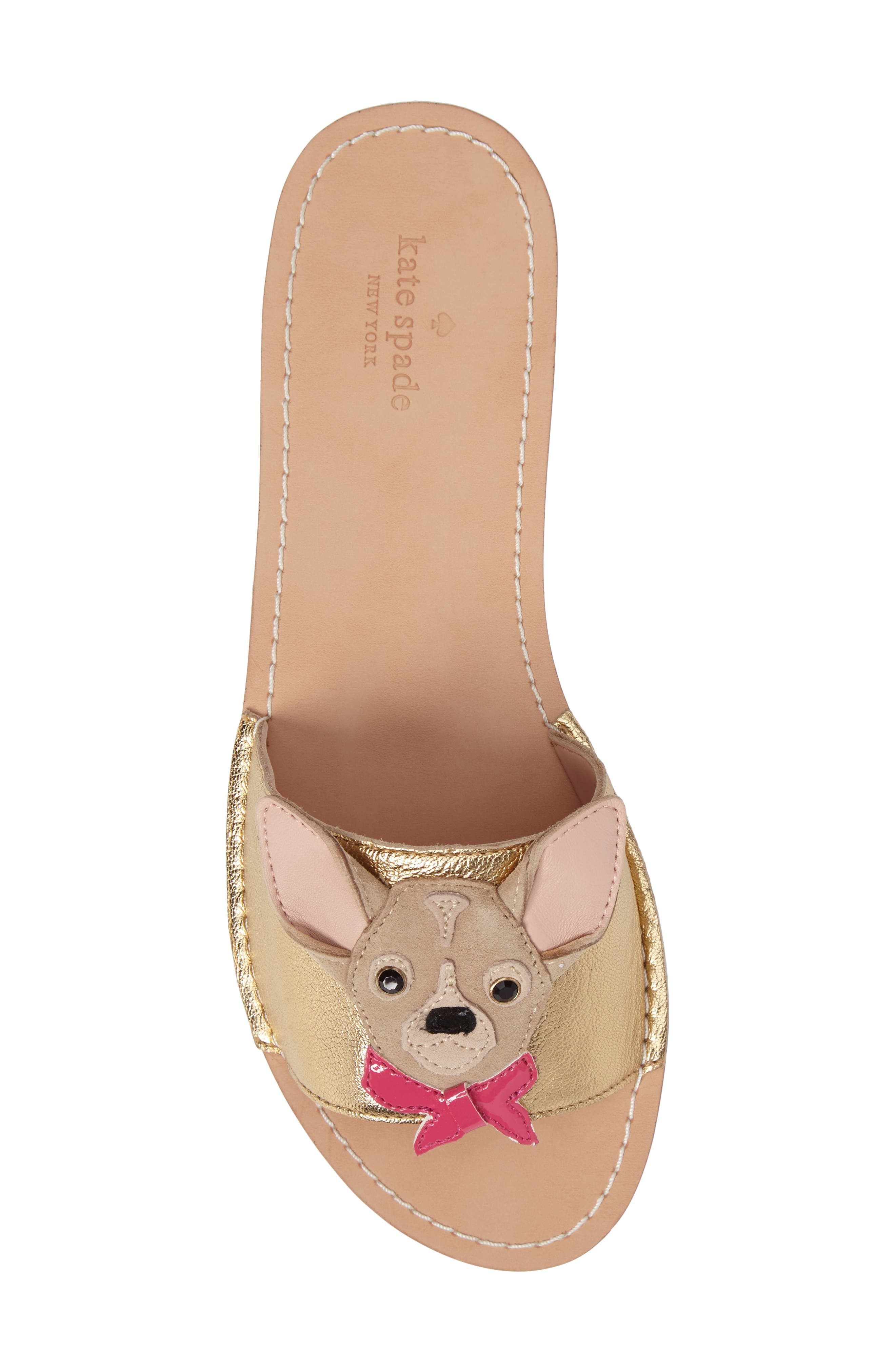 Alternate Image 4  - kate spade new york isadore chihuahua slide sandal (Women)