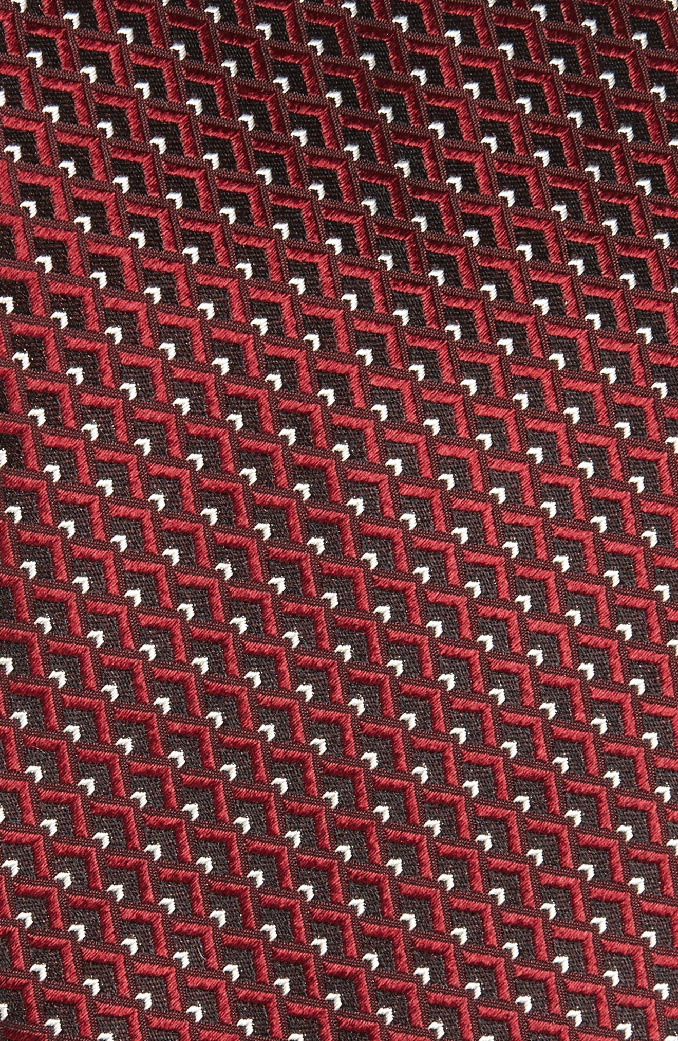 Alternate Image 2  - Ermenegildo Zegna Geomeric Silk Tie