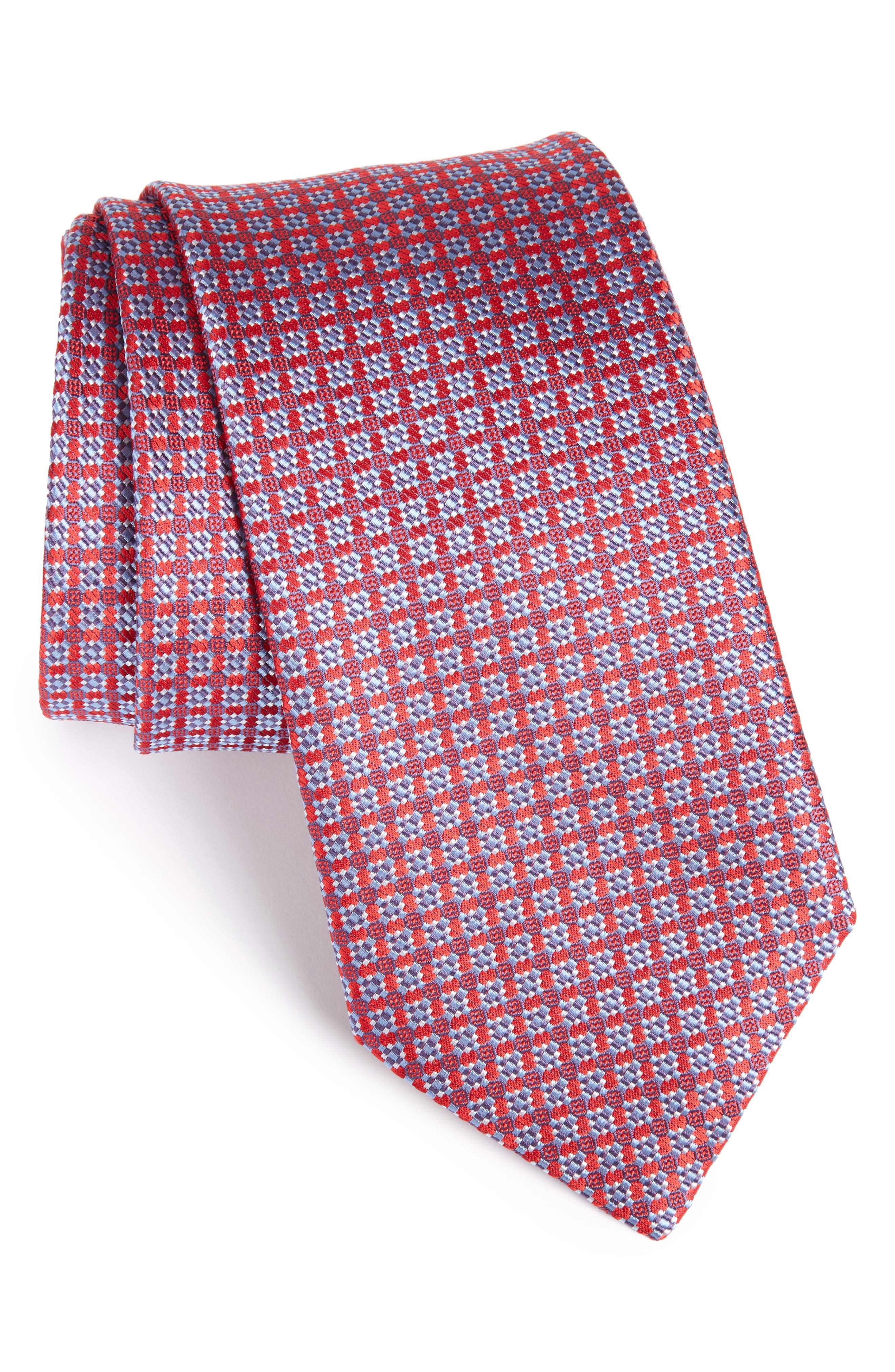 Alternate Image 1 Selected - Brioni Neat Silk Tie