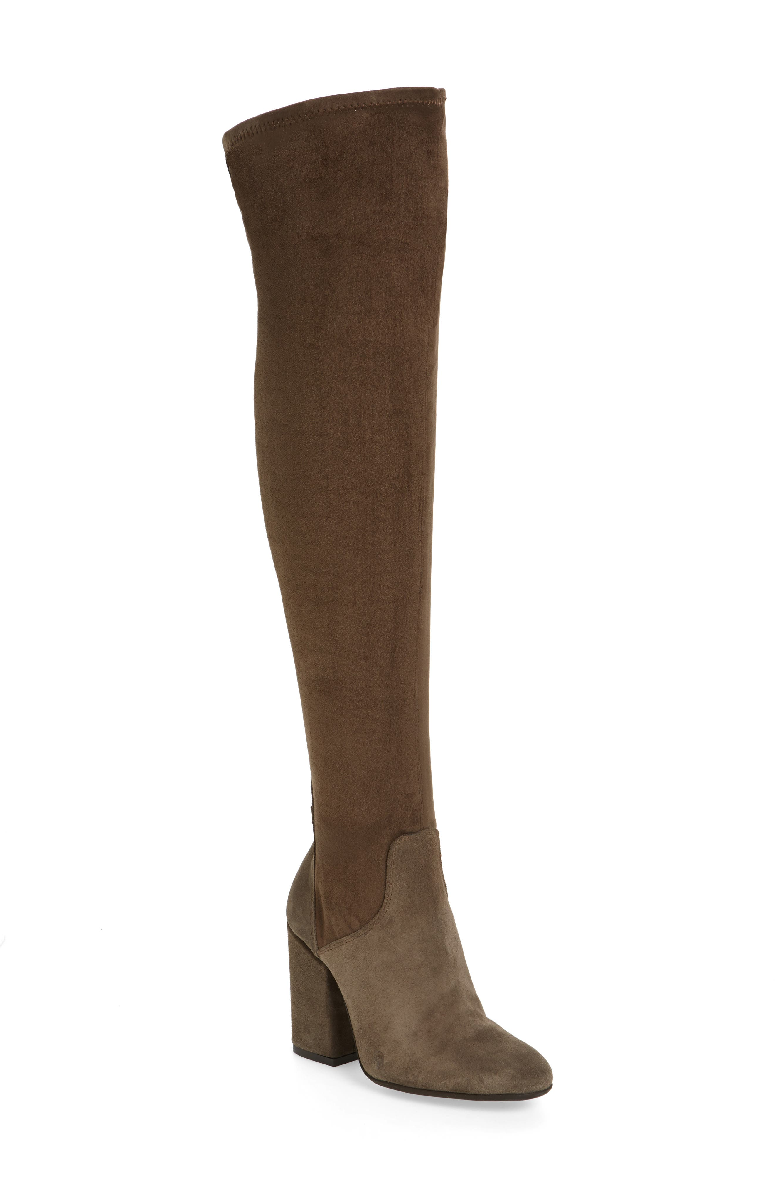 CHARLES DAVID Clarice Over the Knee Boot