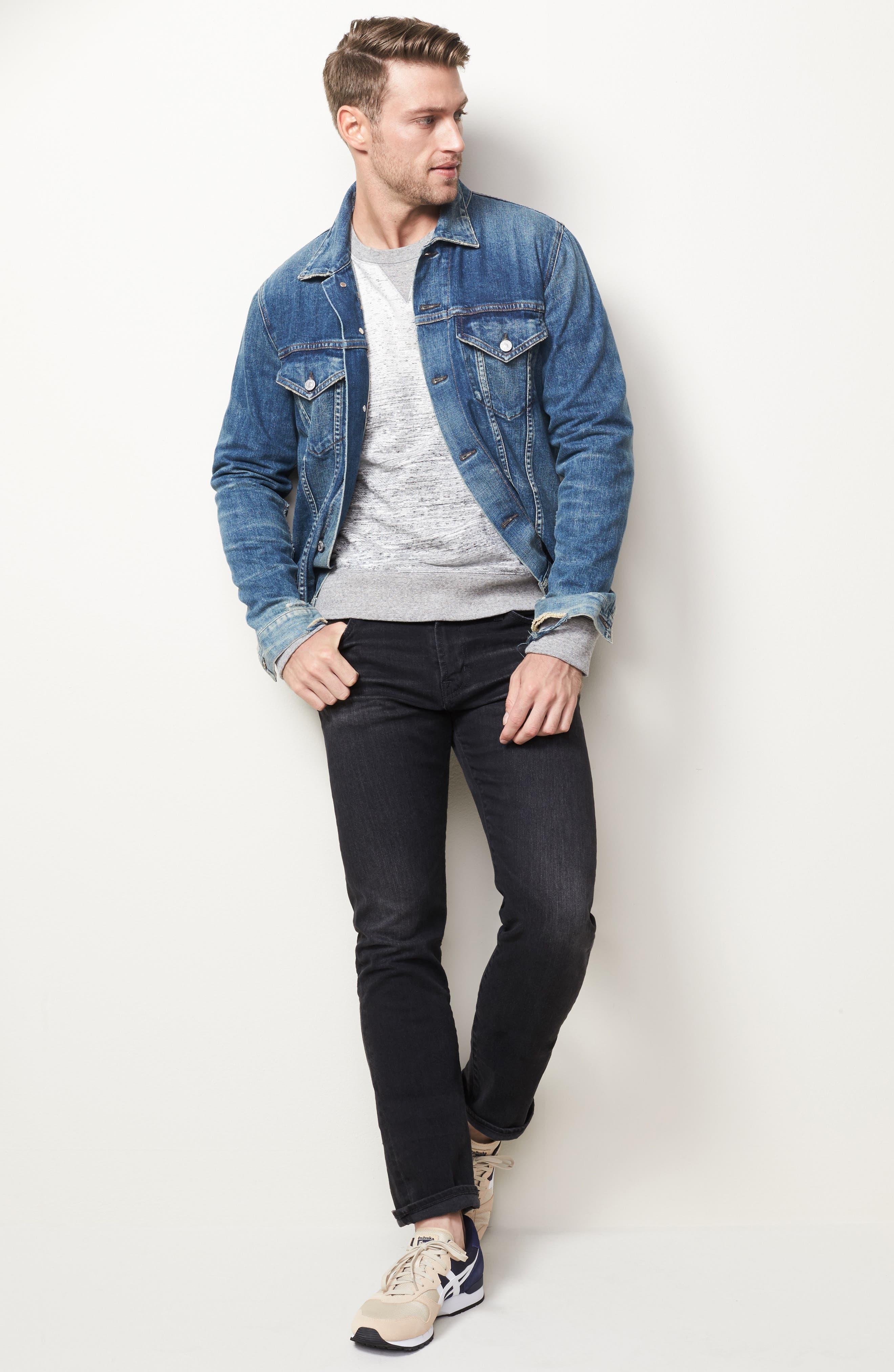 Everett Slim Straight Leg Jeans,                             Alternate thumbnail 2, color,                             4 Years Down