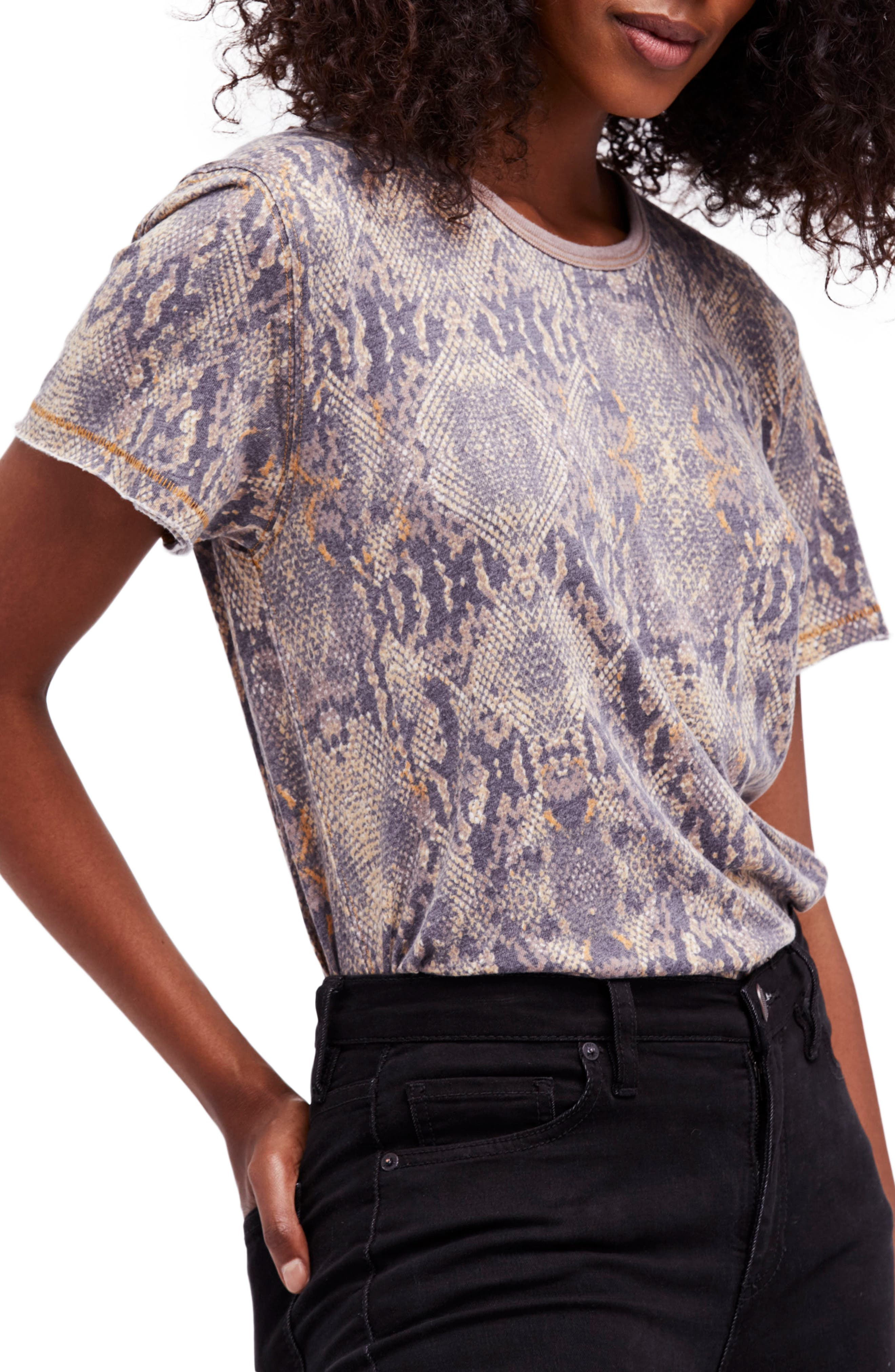 Print Me Perfect Tee,                         Main,                         color, Neutral