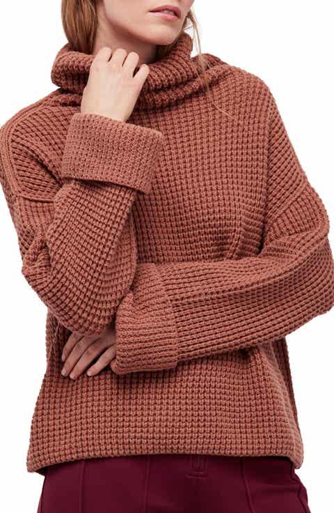 Women's Brown Turtleneck Sweaters | Nordstrom