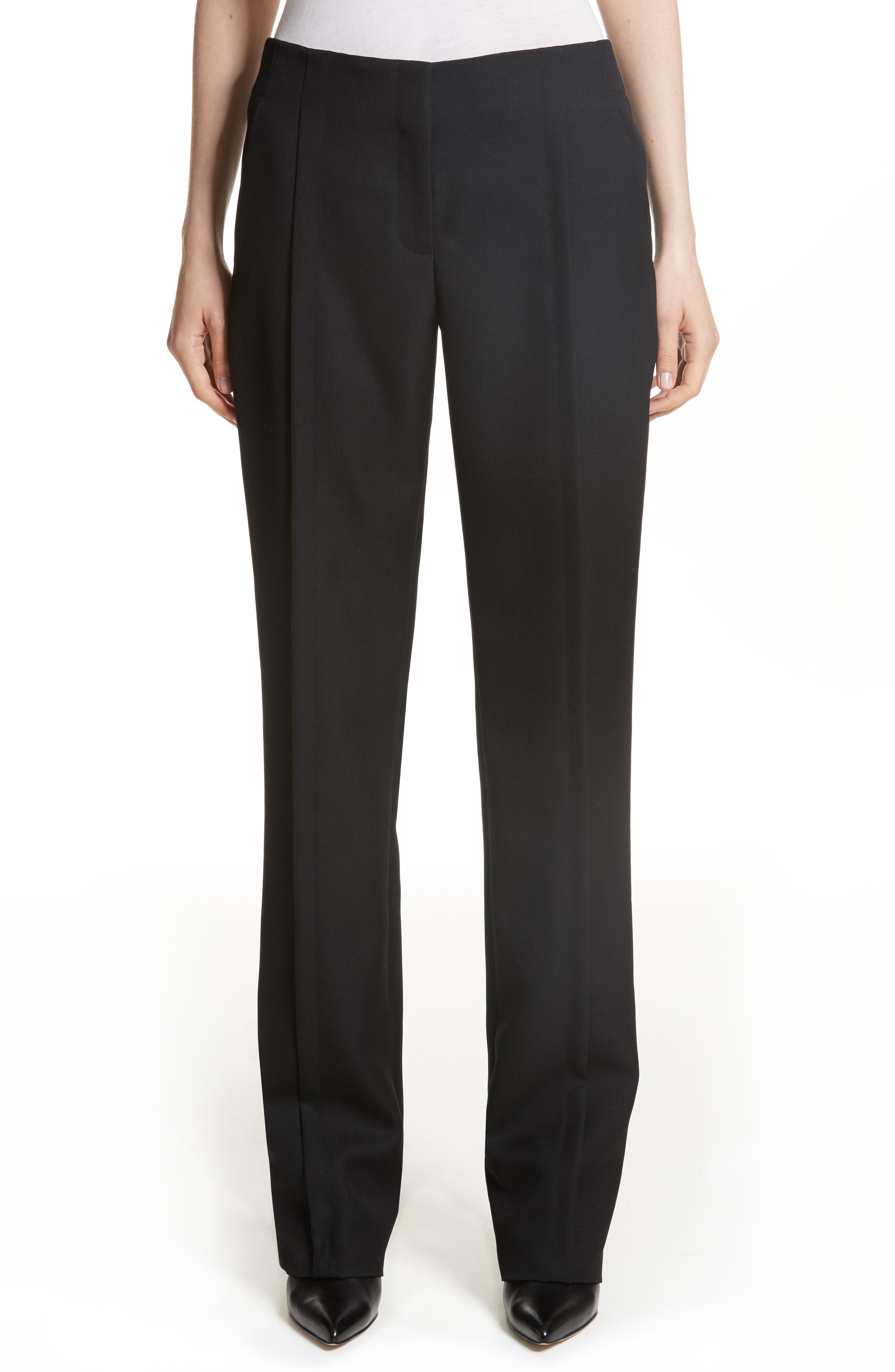 Merit Wool Pants,                         Main,                         color, Black