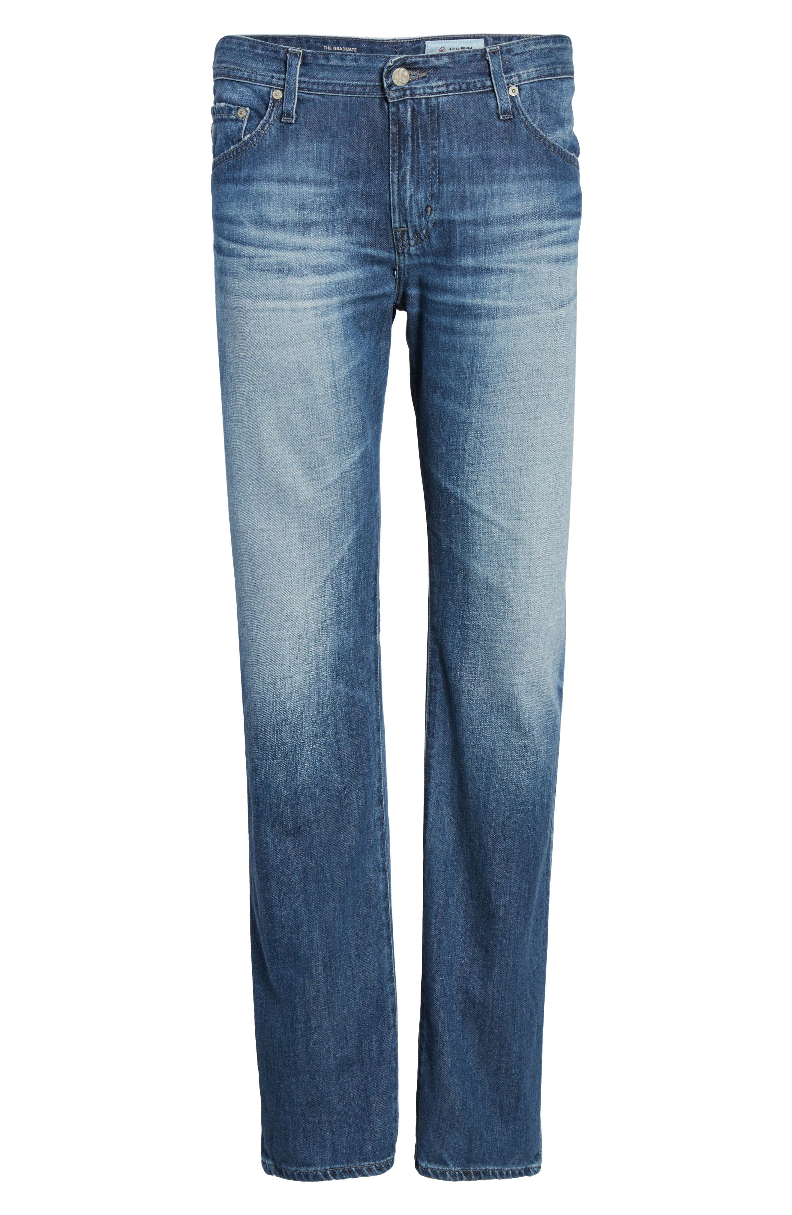 Alternate Image 6  - AG Graduate Slim Straight Fit Jeans (15 Years Forgery)