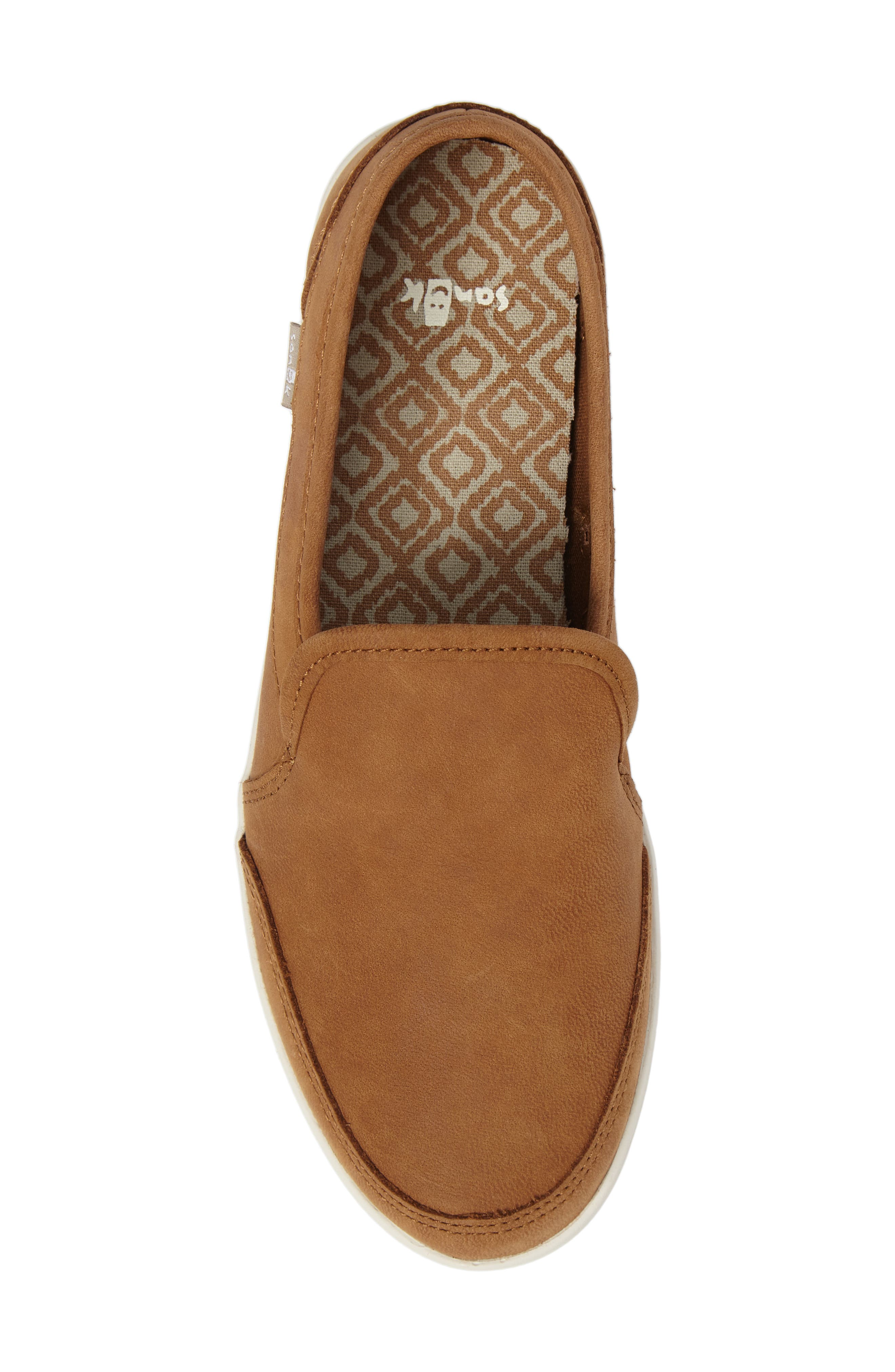 'Pair O Dice' Slip On,                             Alternate thumbnail 5, color,                             Tobacco Brown