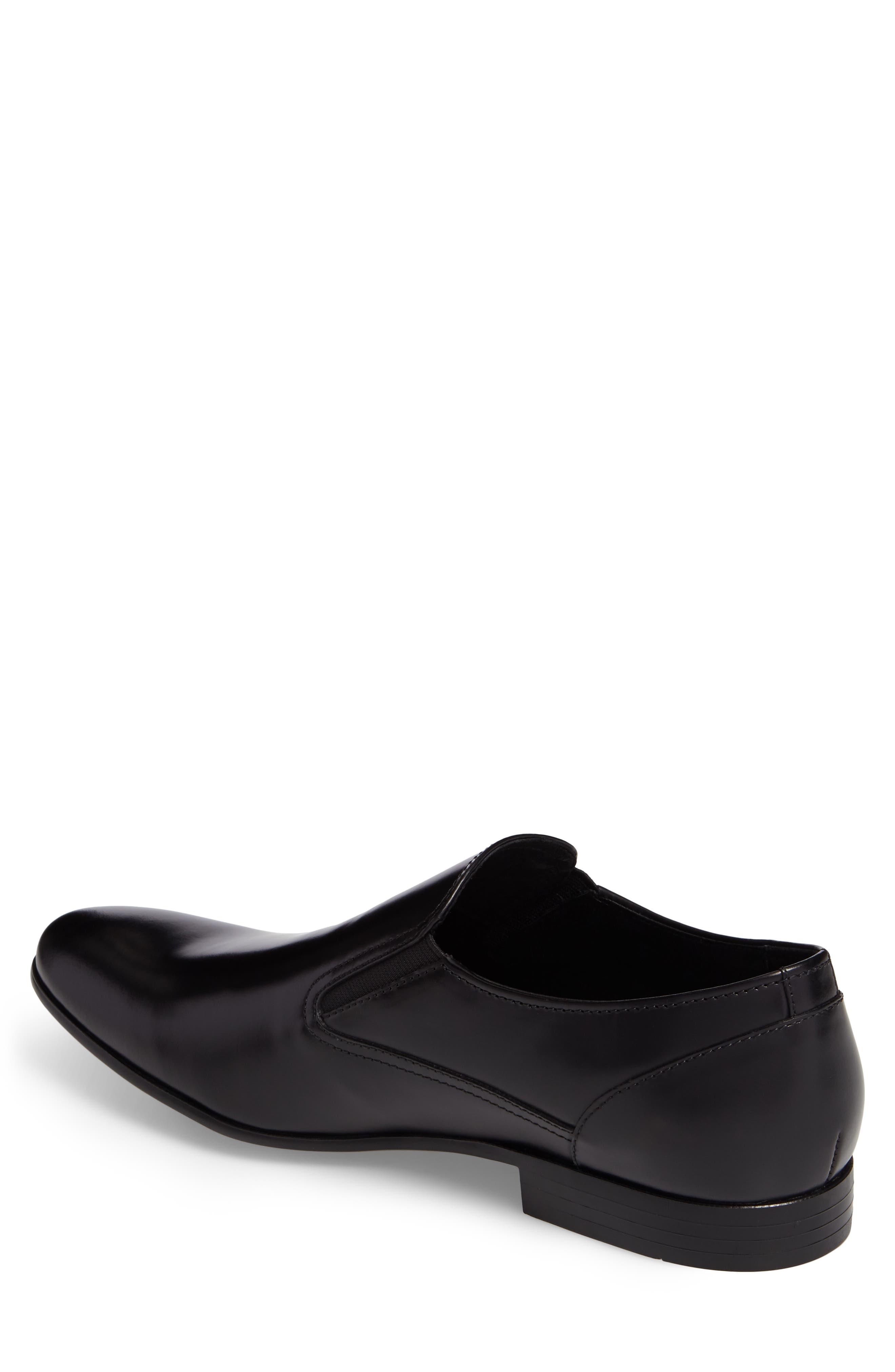 Venetian Loafer,                             Alternate thumbnail 2, color,                             Black Leather