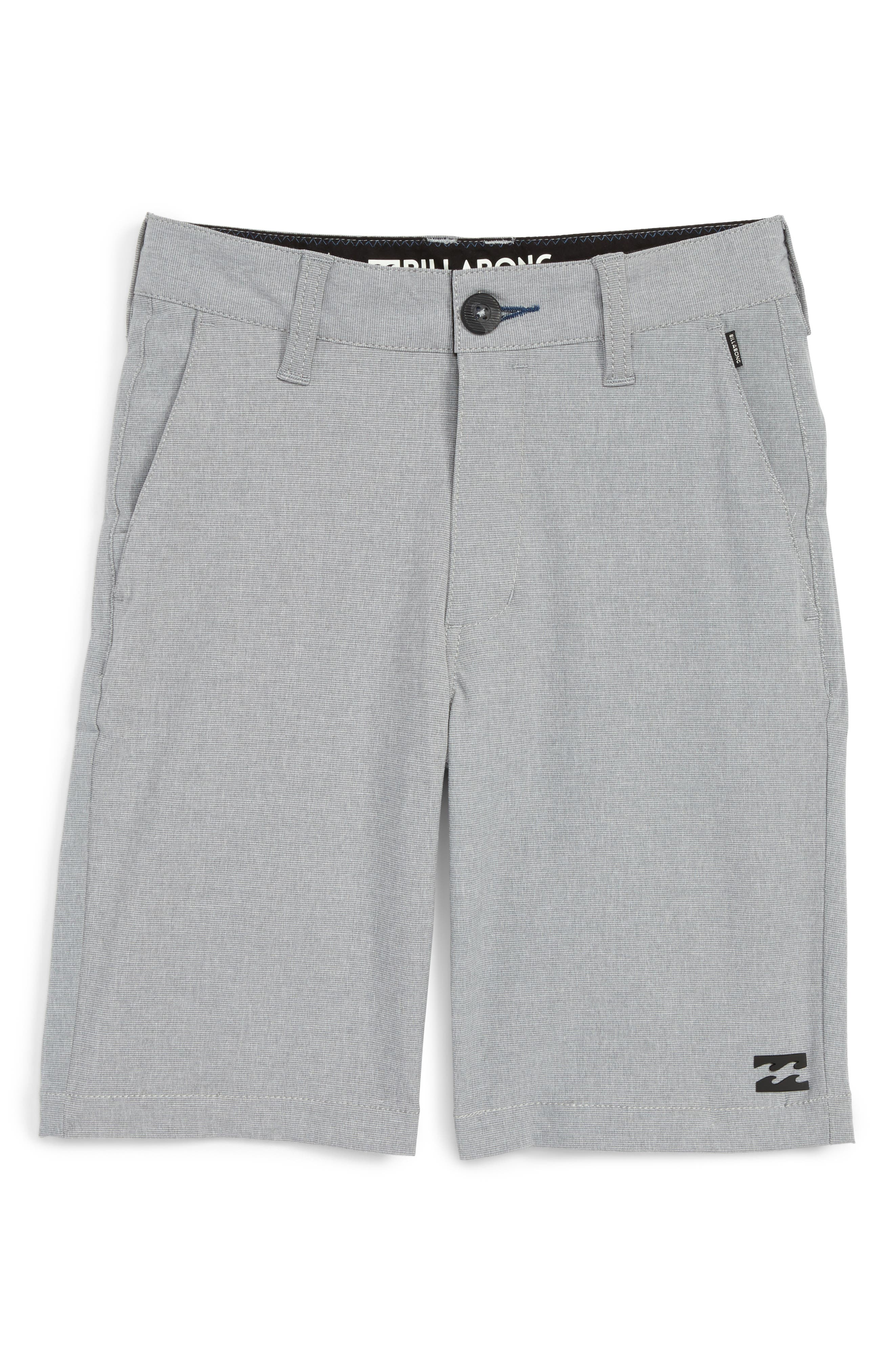 Crossfire X Submersible Hybrid Shorts,                         Main,                         color, Grey