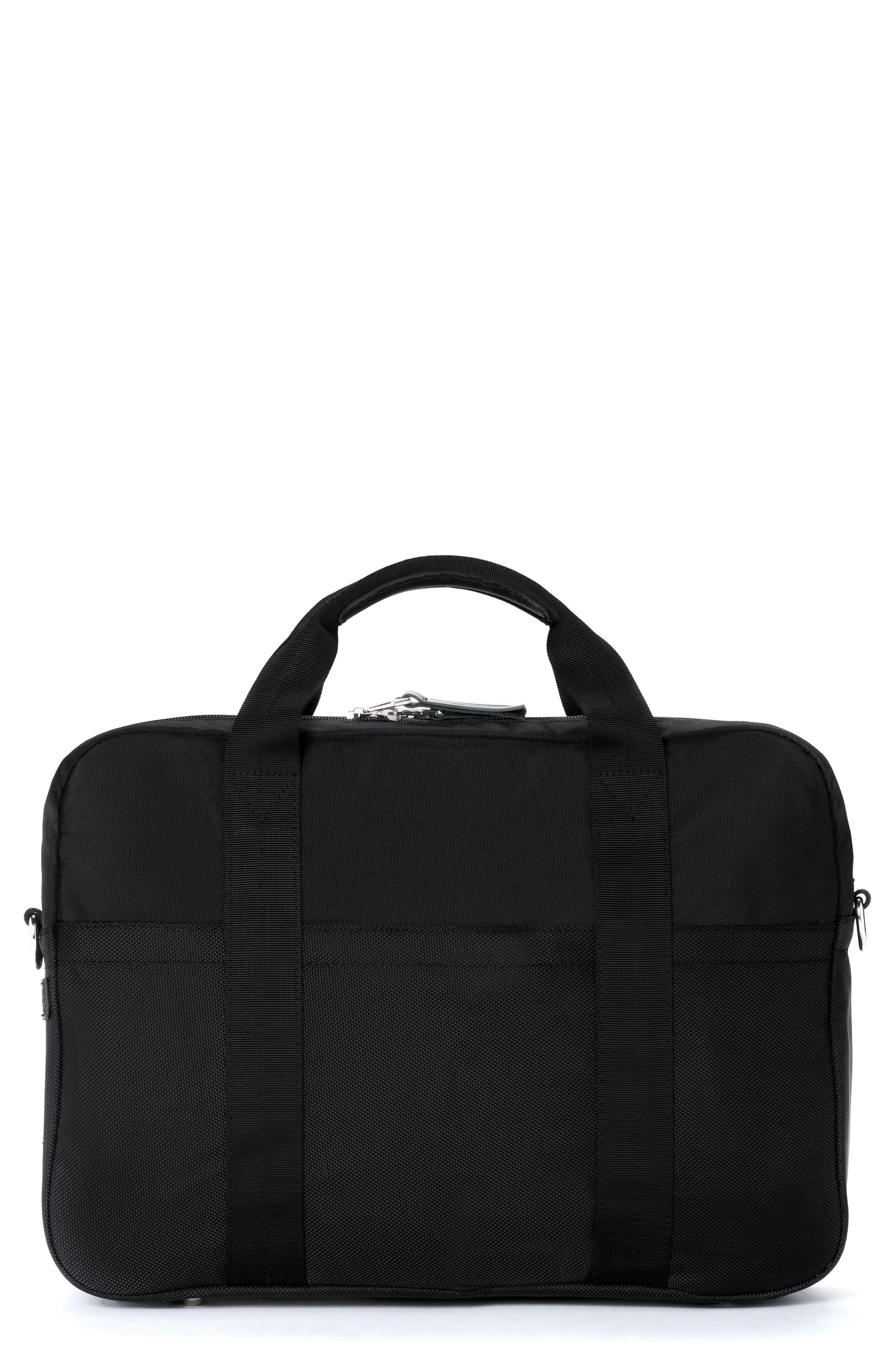 Apache Briefcase,                             Main thumbnail 1, color,                             Black