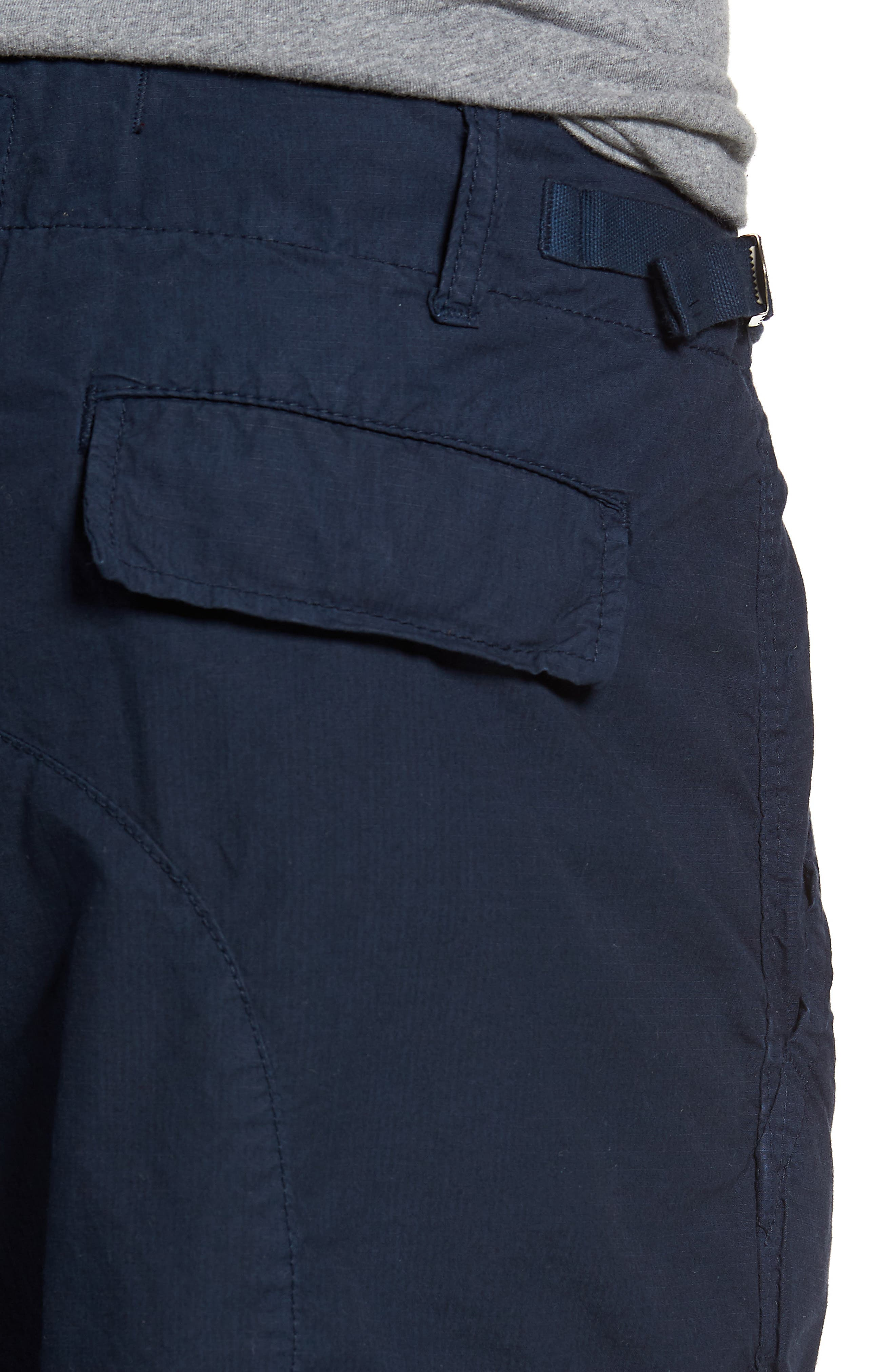 'Oxnard' Cargo Shorts,                             Alternate thumbnail 4, color,                             Navy