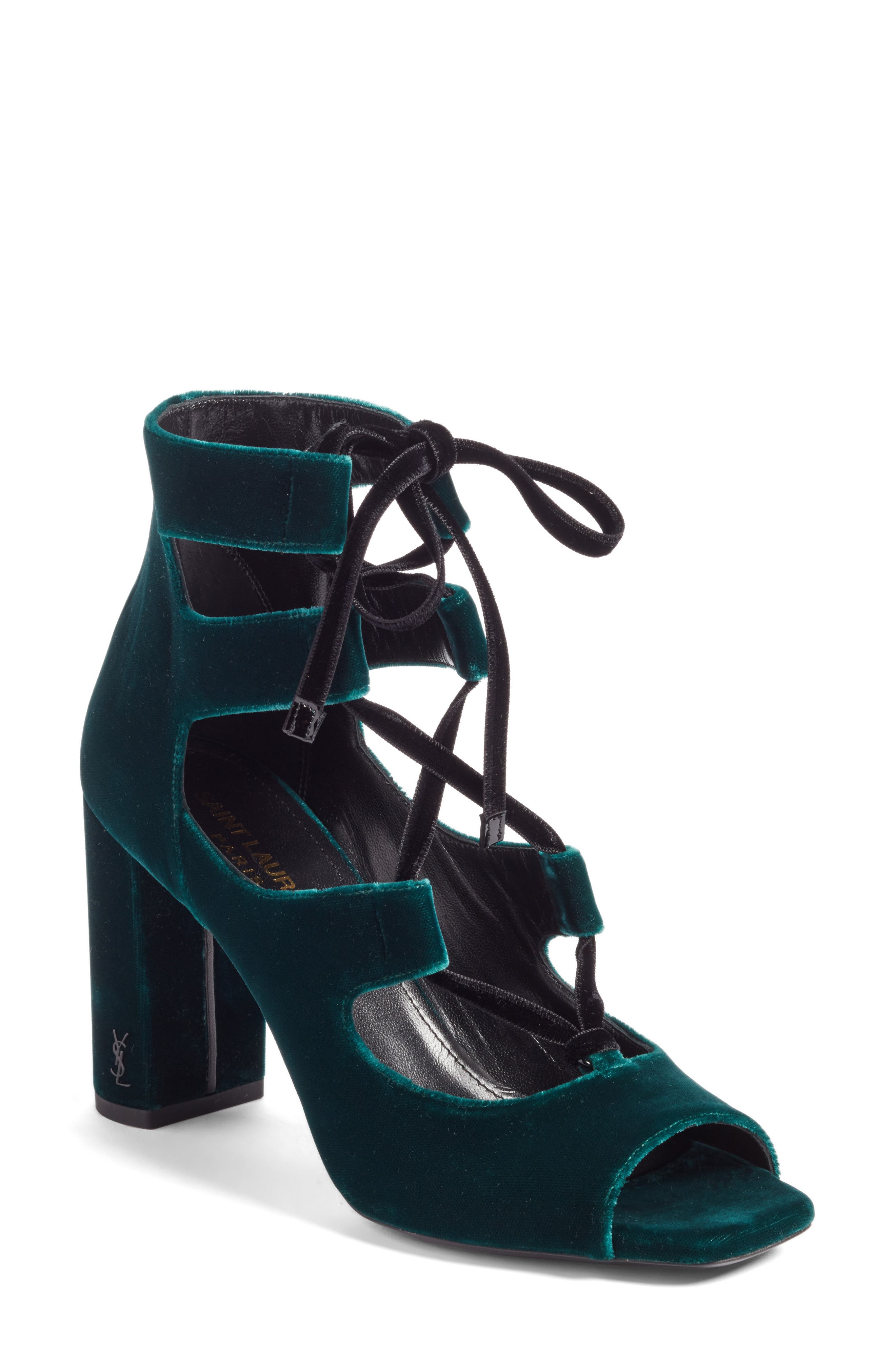 Loulou Ghillie Sandal,                         Main,                         color, Teal