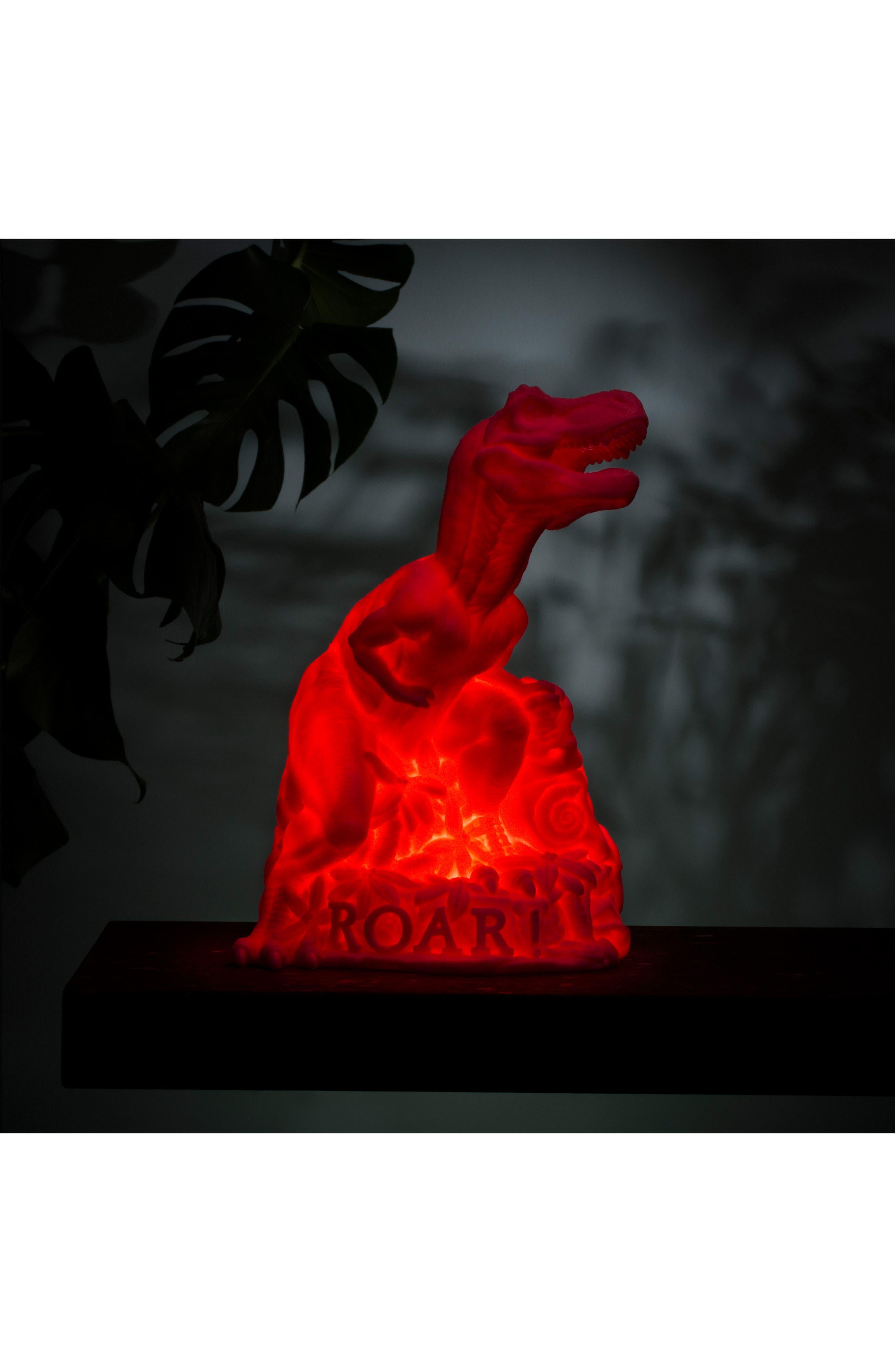 Dino LED Lamp,                             Alternate thumbnail 5, color,                             Pink
