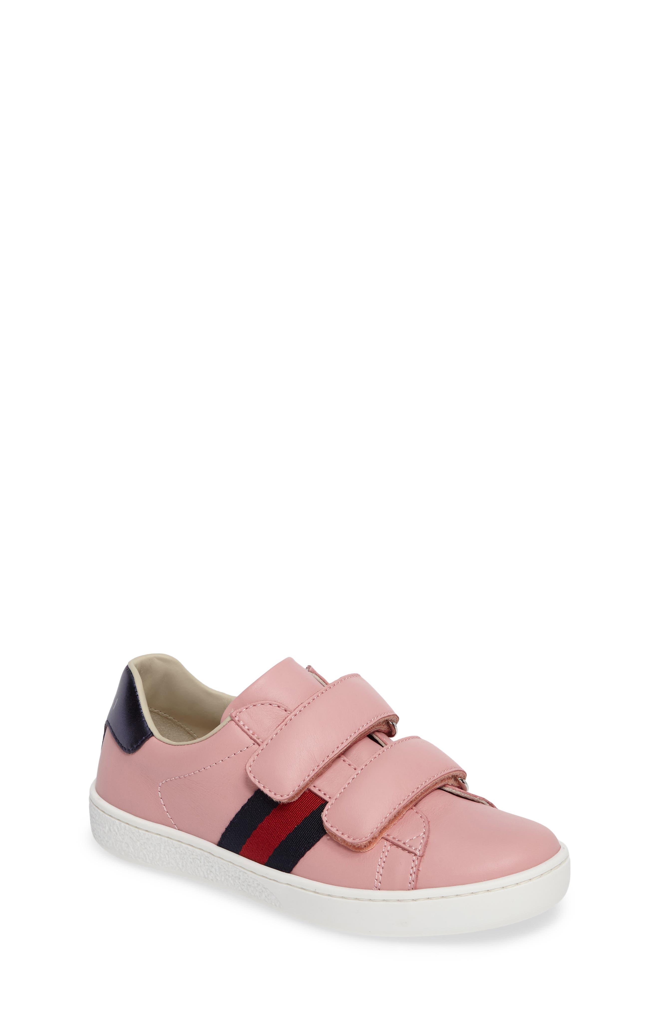 Gucci New Ace Sneaker (Baby, Walker, Toddler & Little Kid)