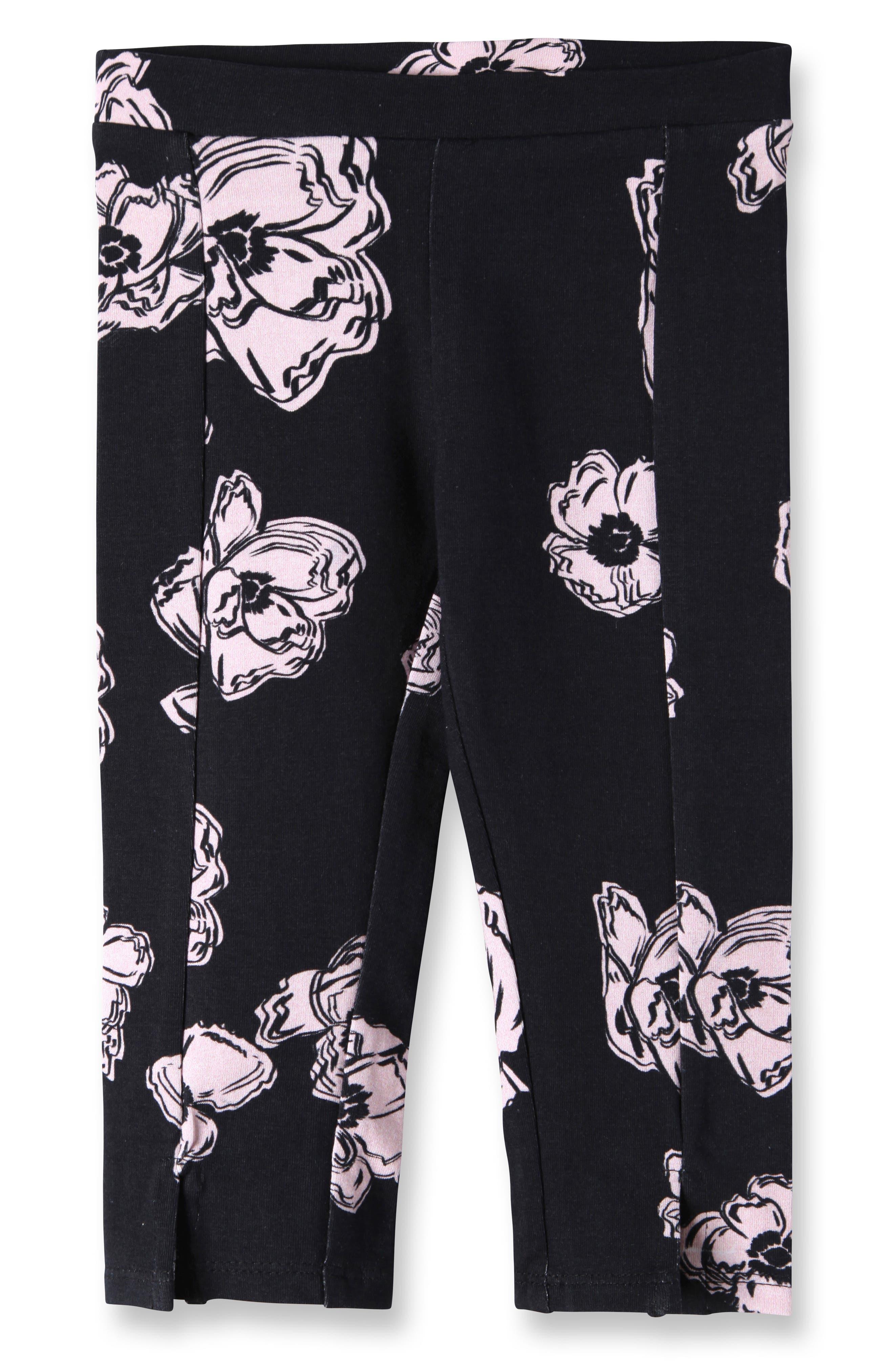 Main Image - Art & Eden Diane Organic Cotton Leggings (Baby Girls)