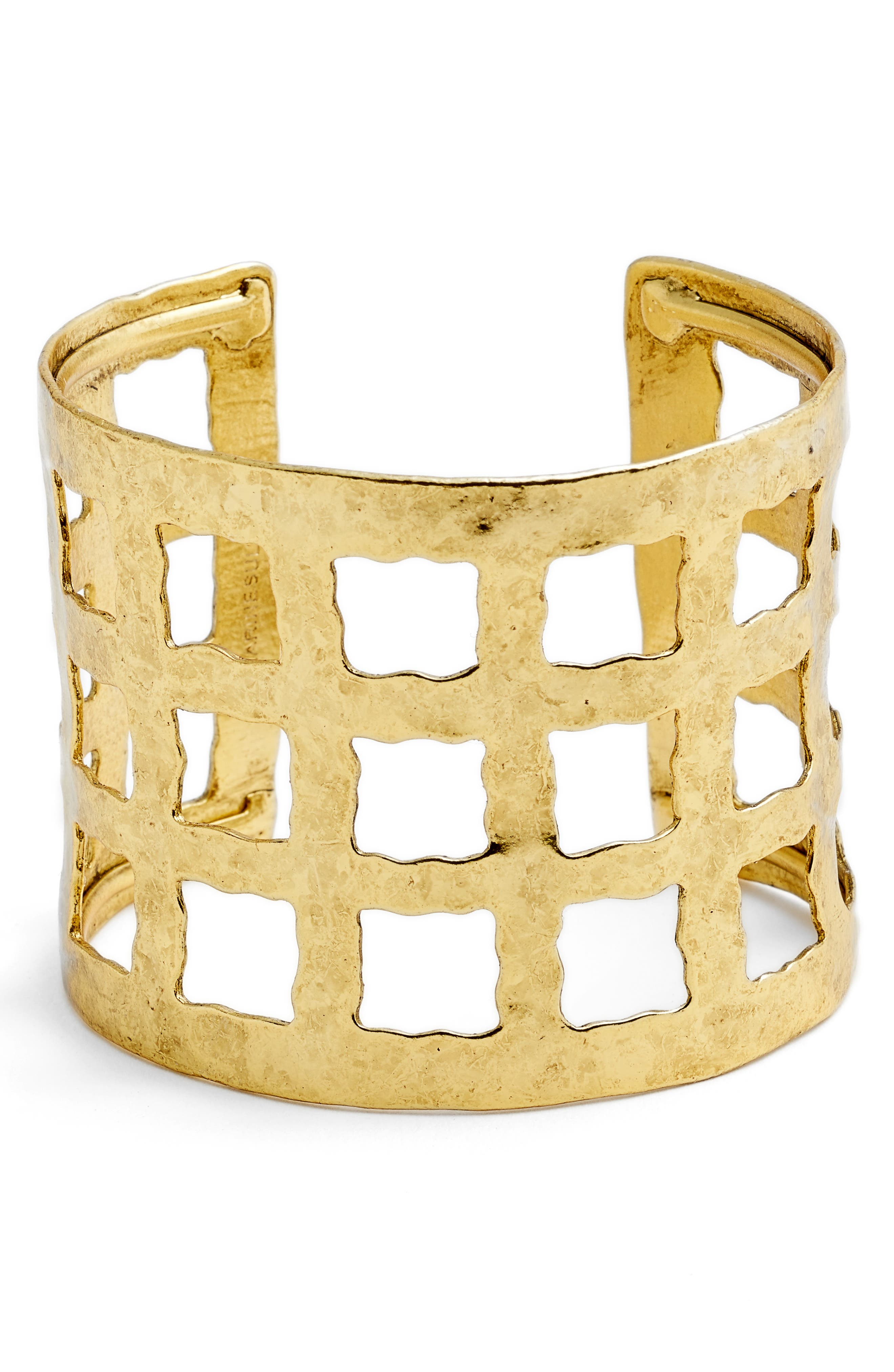 Wide Cuff,                         Main,                         color, Gold