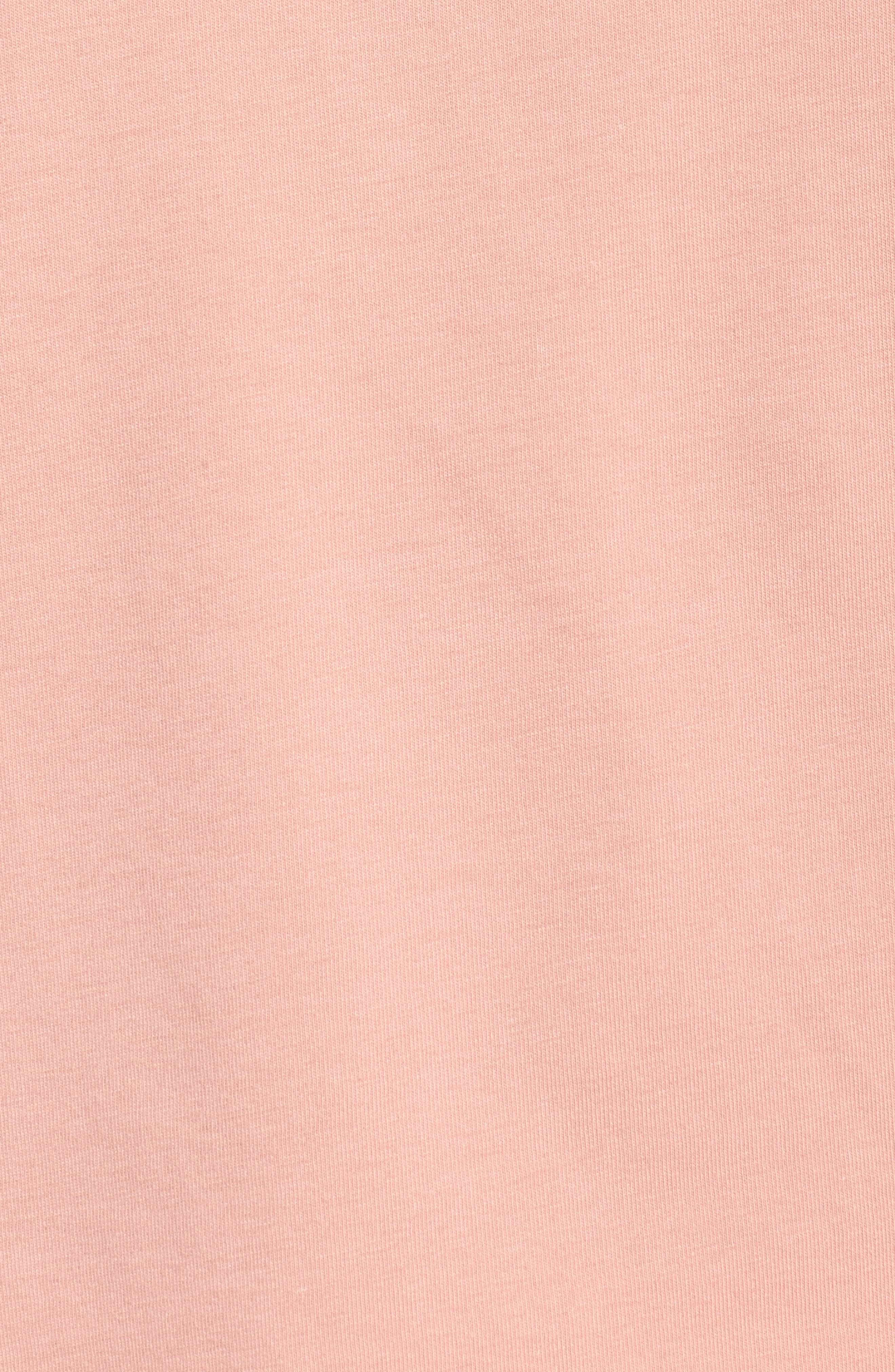 Lux Crisscross Tee,                             Alternate thumbnail 6, color,                             Cameo Brown