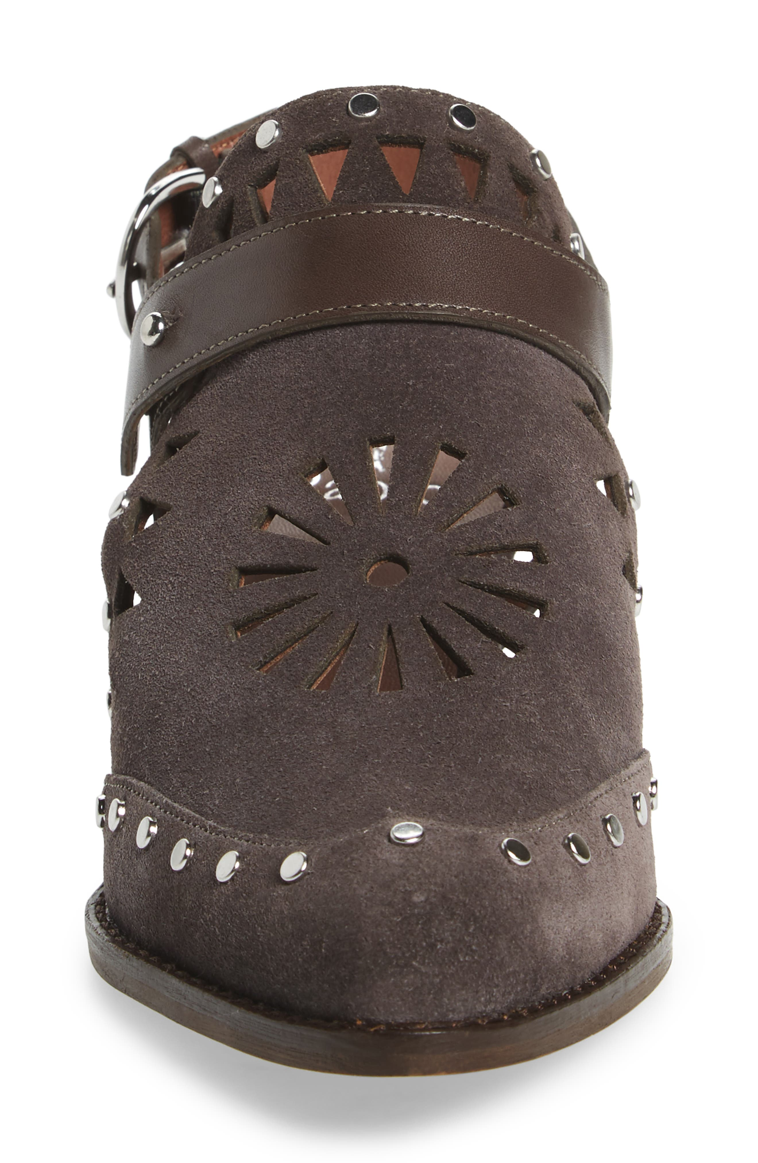 Whitney Bootie,                             Alternate thumbnail 4, color,                             Ash Suede
