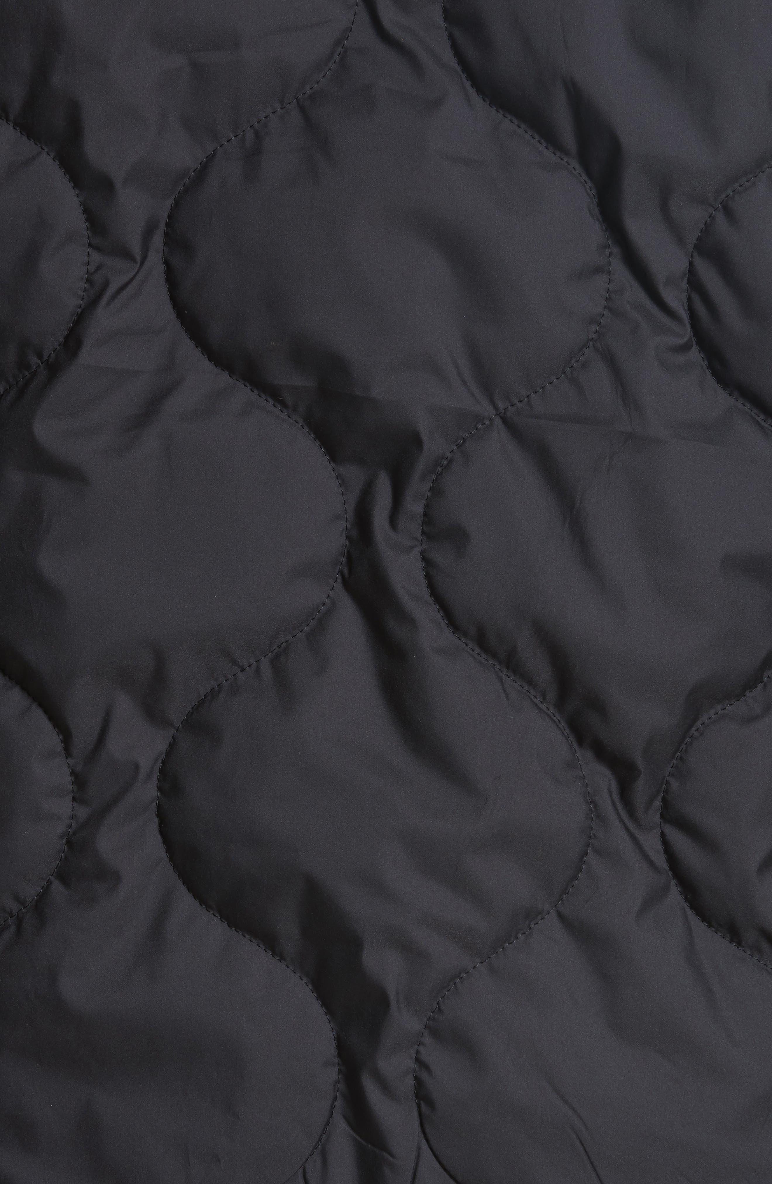 Alternate Image 5  - rag & bone Quilted Zip Hoodie