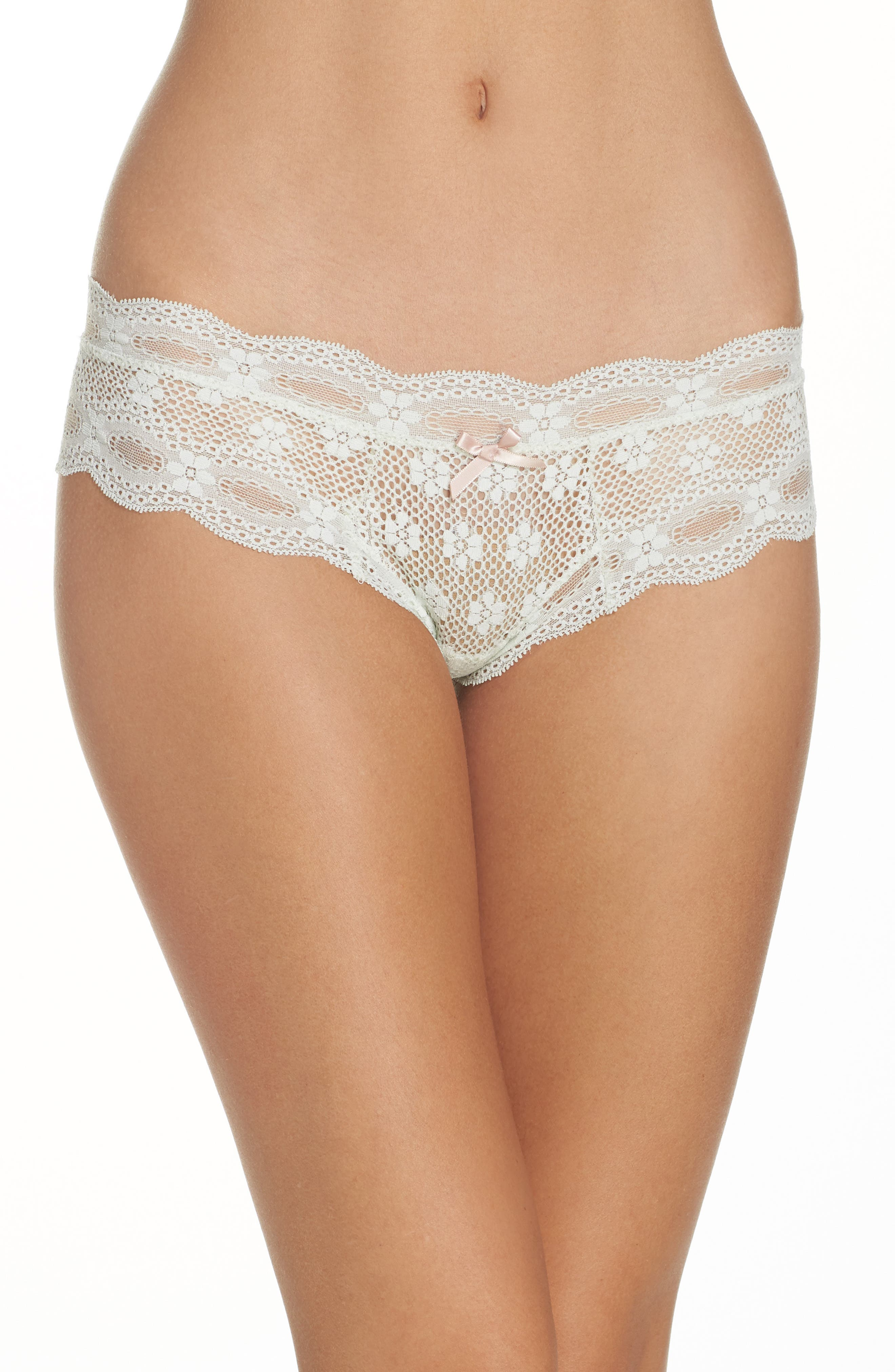 EBERJEY India Lace Thong